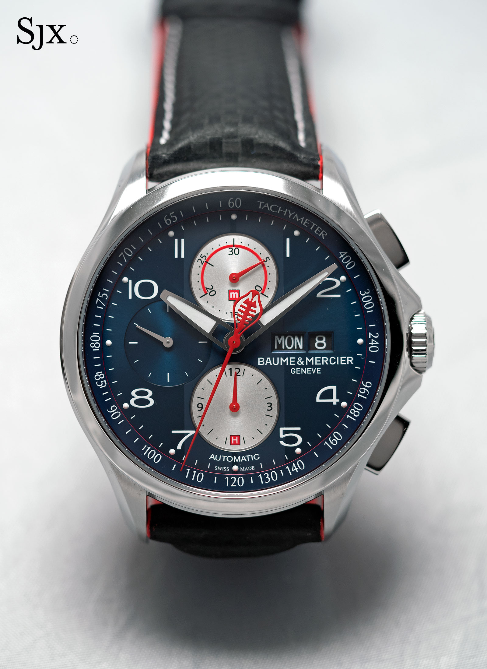 Baume & Mercier Clifton Club Shelby Cobra blue