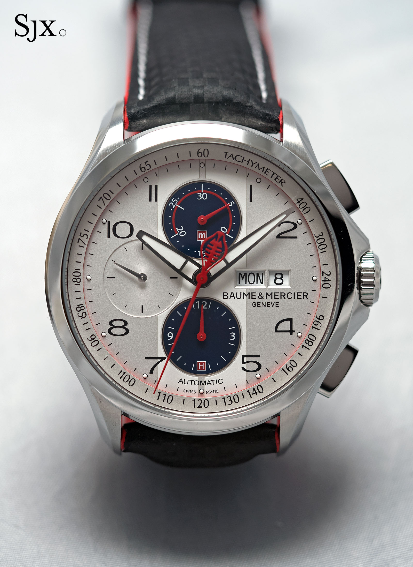 Baume & Mercier Clifton Club Shelby Cobra silver