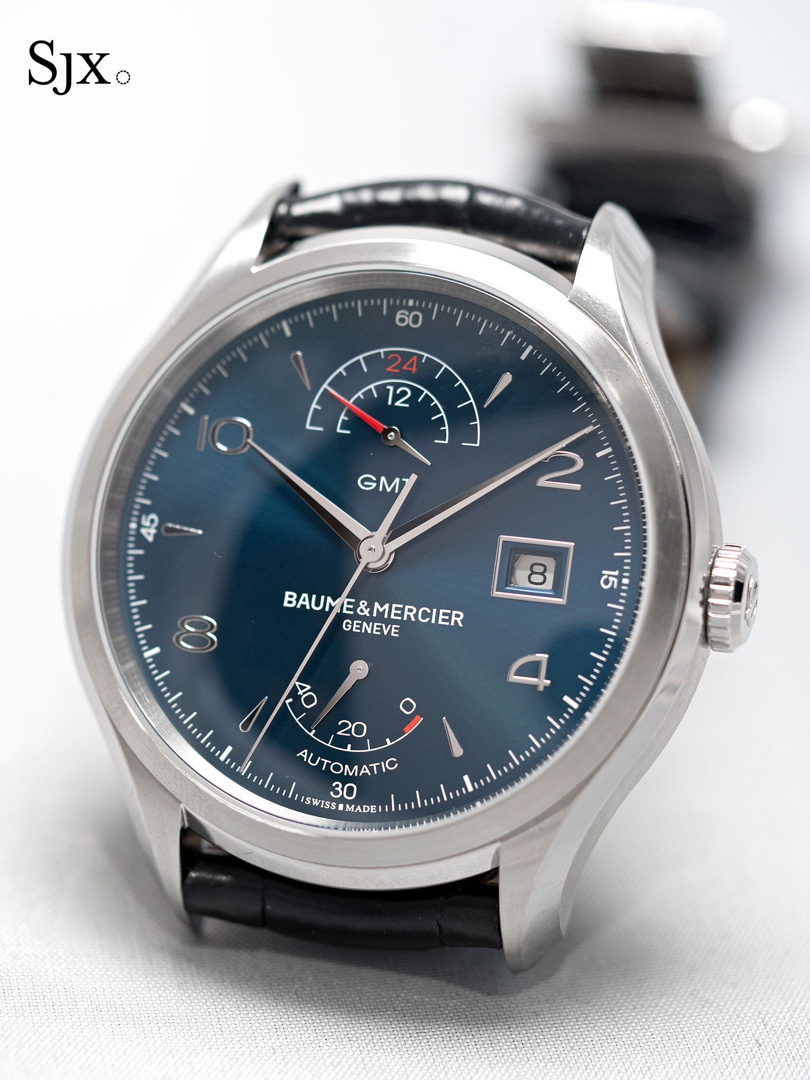 Baume & Mercier Clifton GMT Power Reserve blue 1