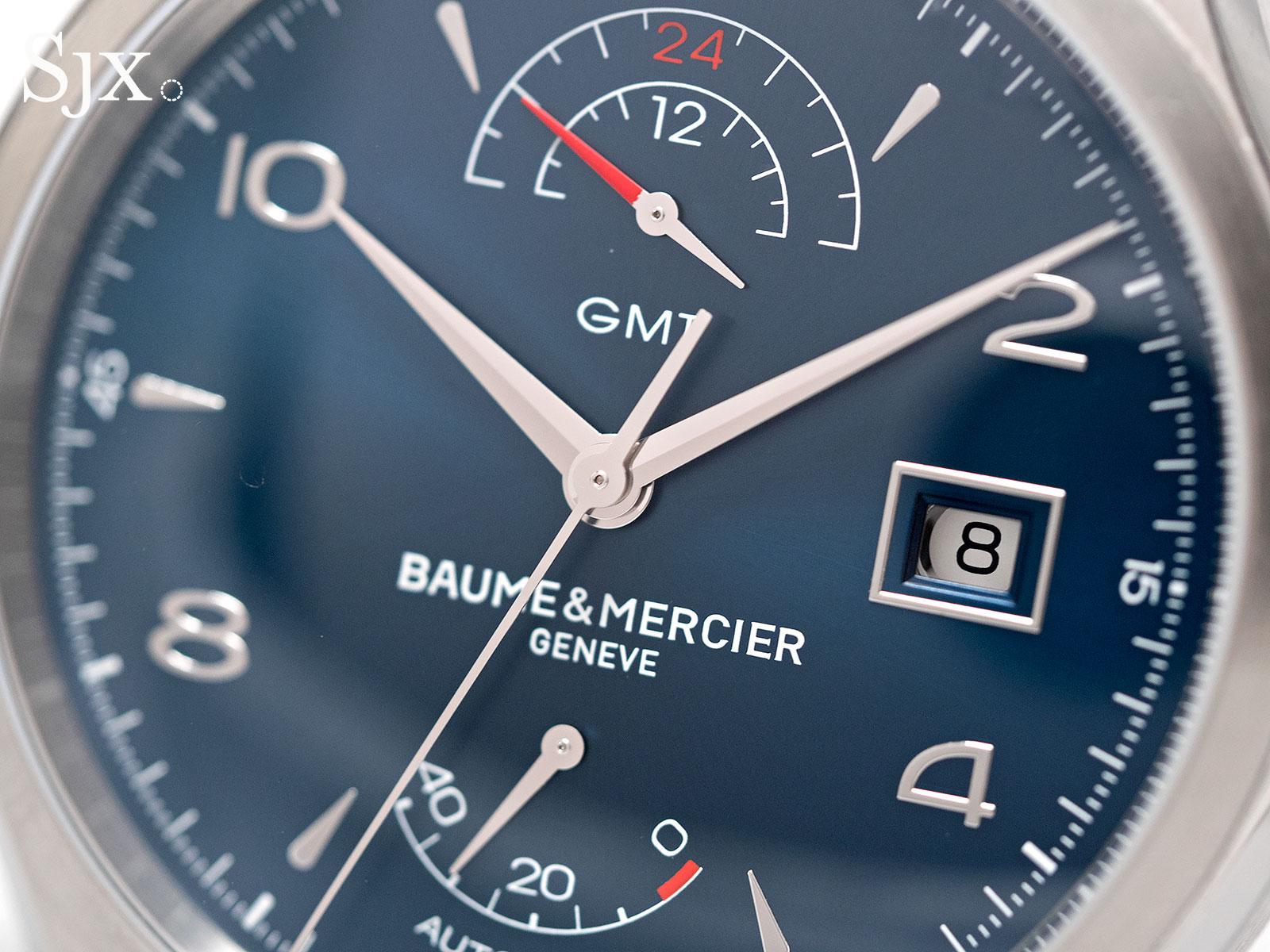 Baume & Mercier Clifton GMT Power Reserve blue 2