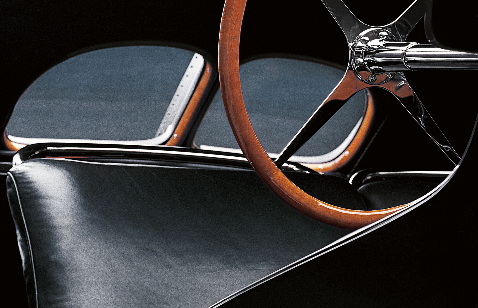 Bugatti Type 57SC Atlantic Coupe interior