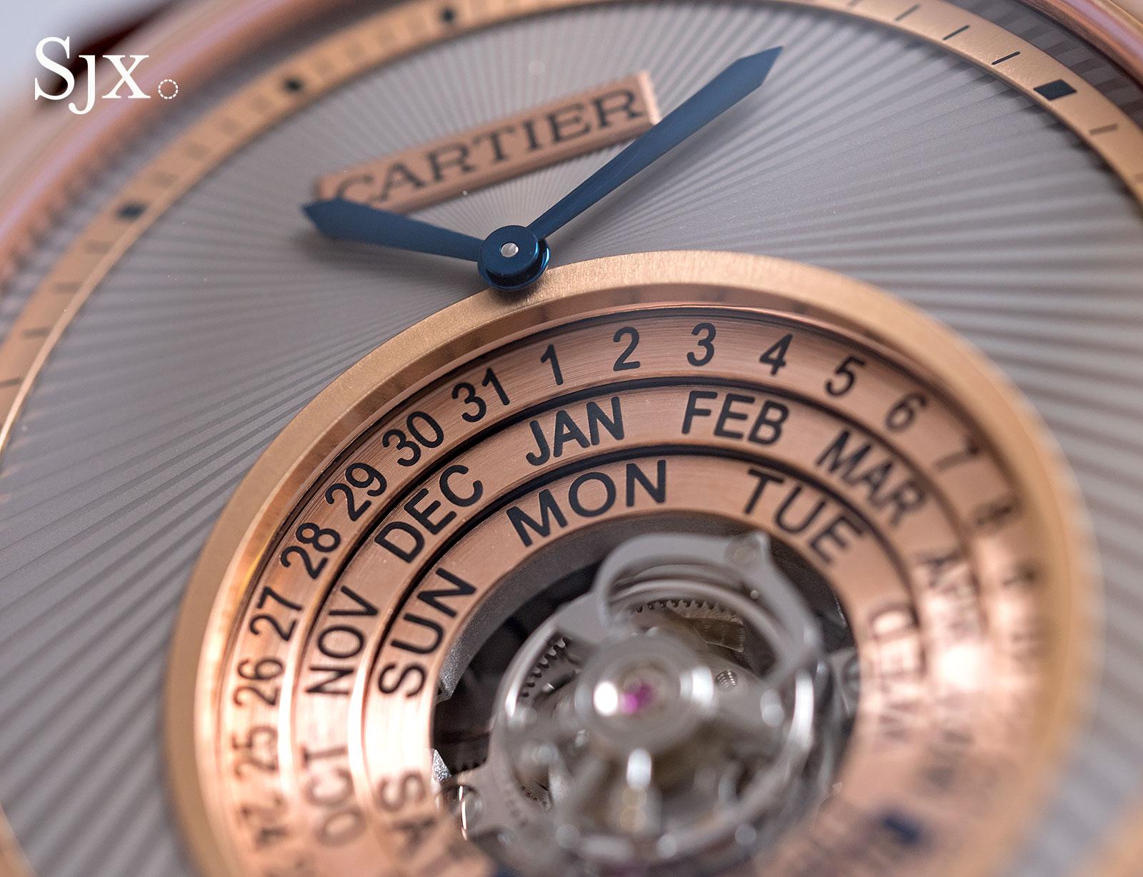 Cartier Astrocalendar pink gold 2