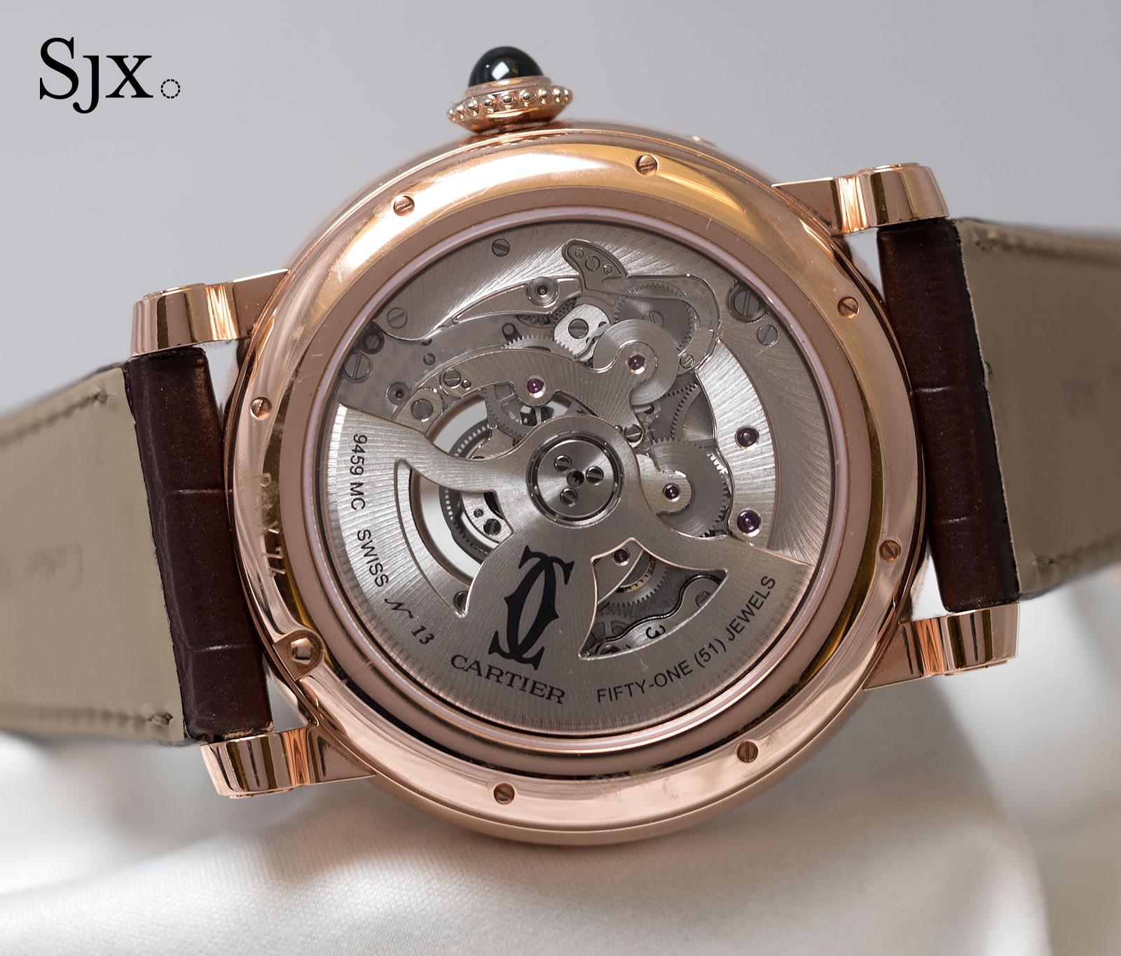 Cartier Astrocalendar pink gold 3