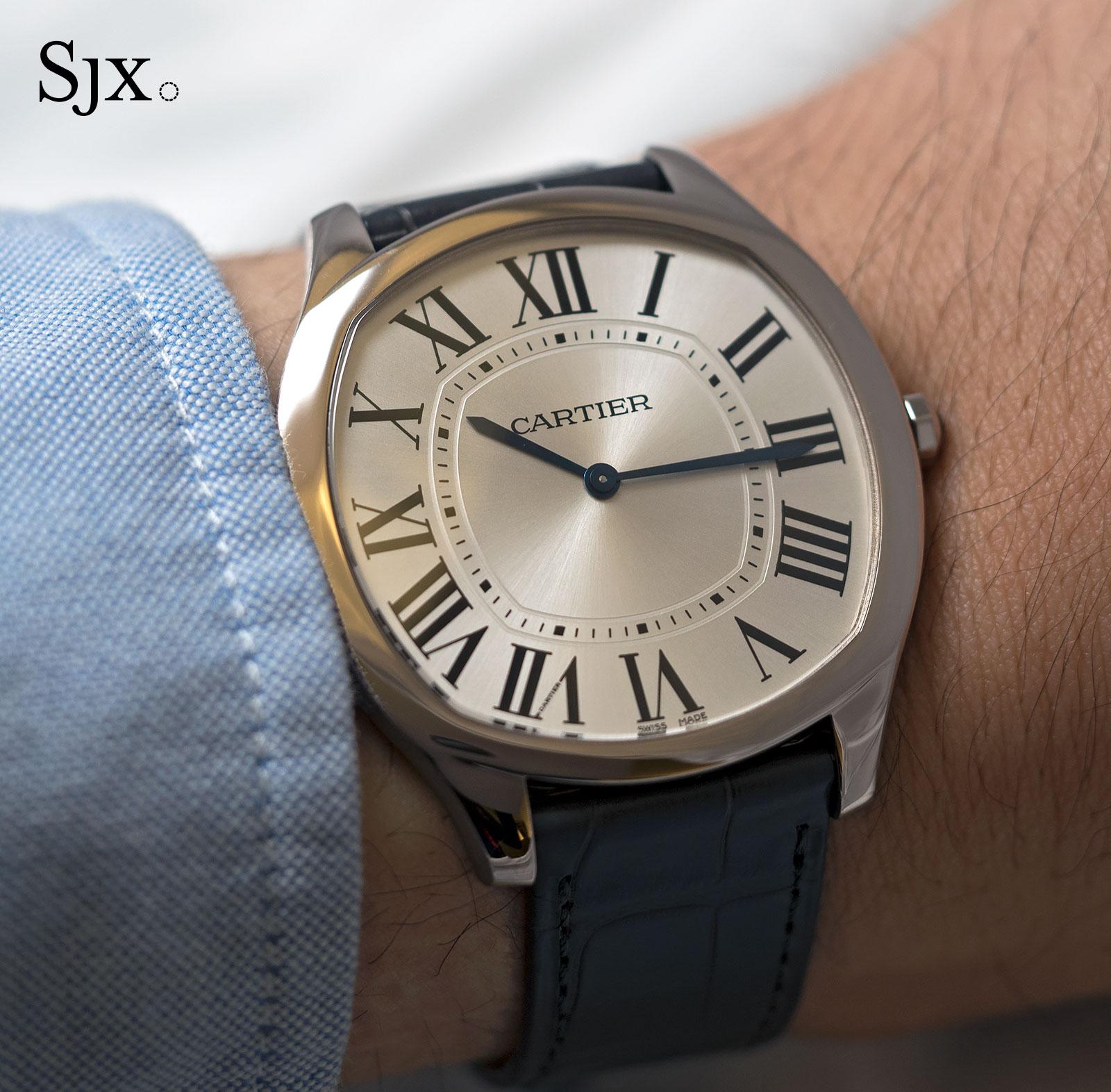 Cartier Drive de Cartier Extra flat white gold 4