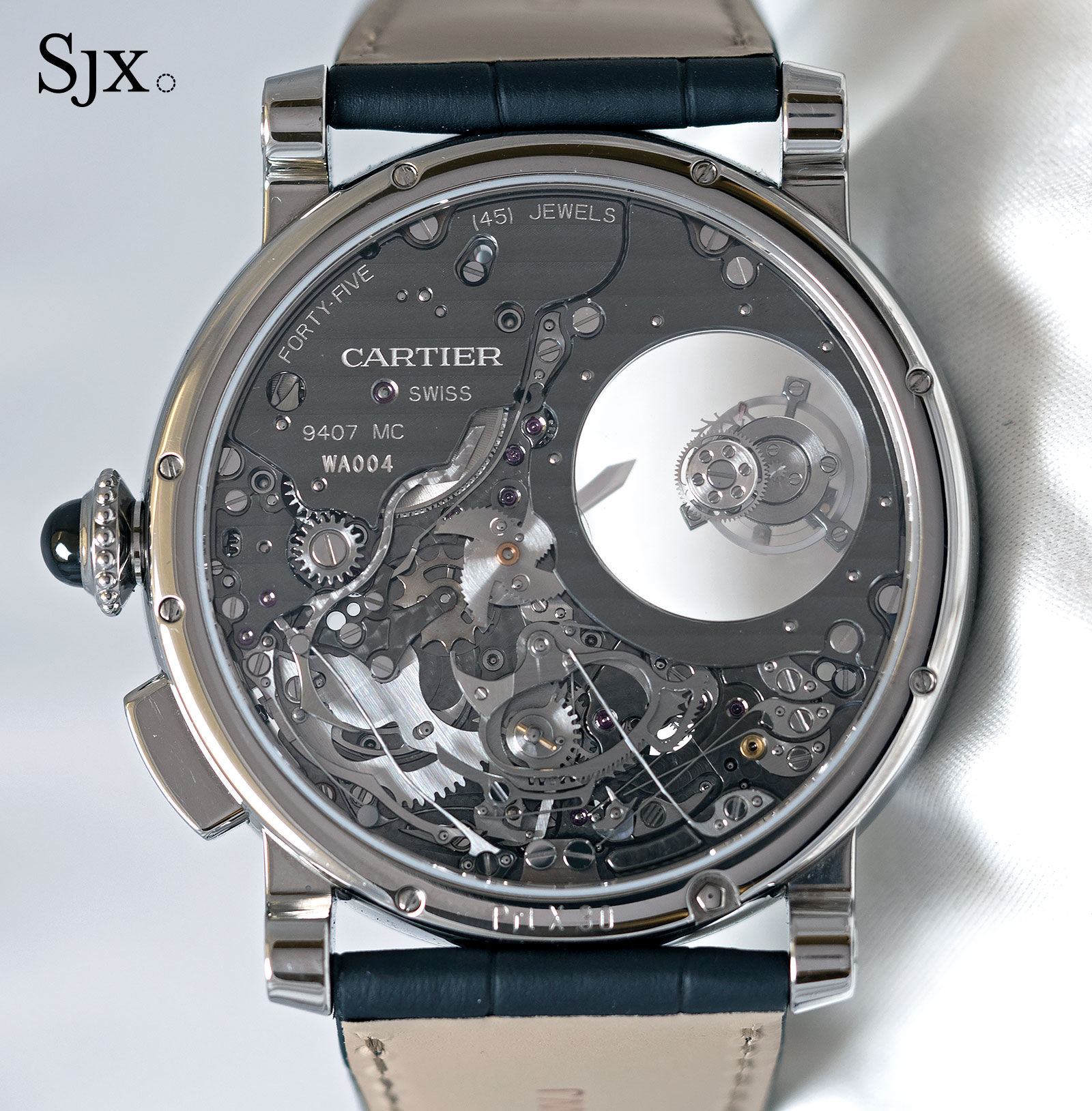 Cartier Rotonde Repeater Mysterious Double Tourbillon 4