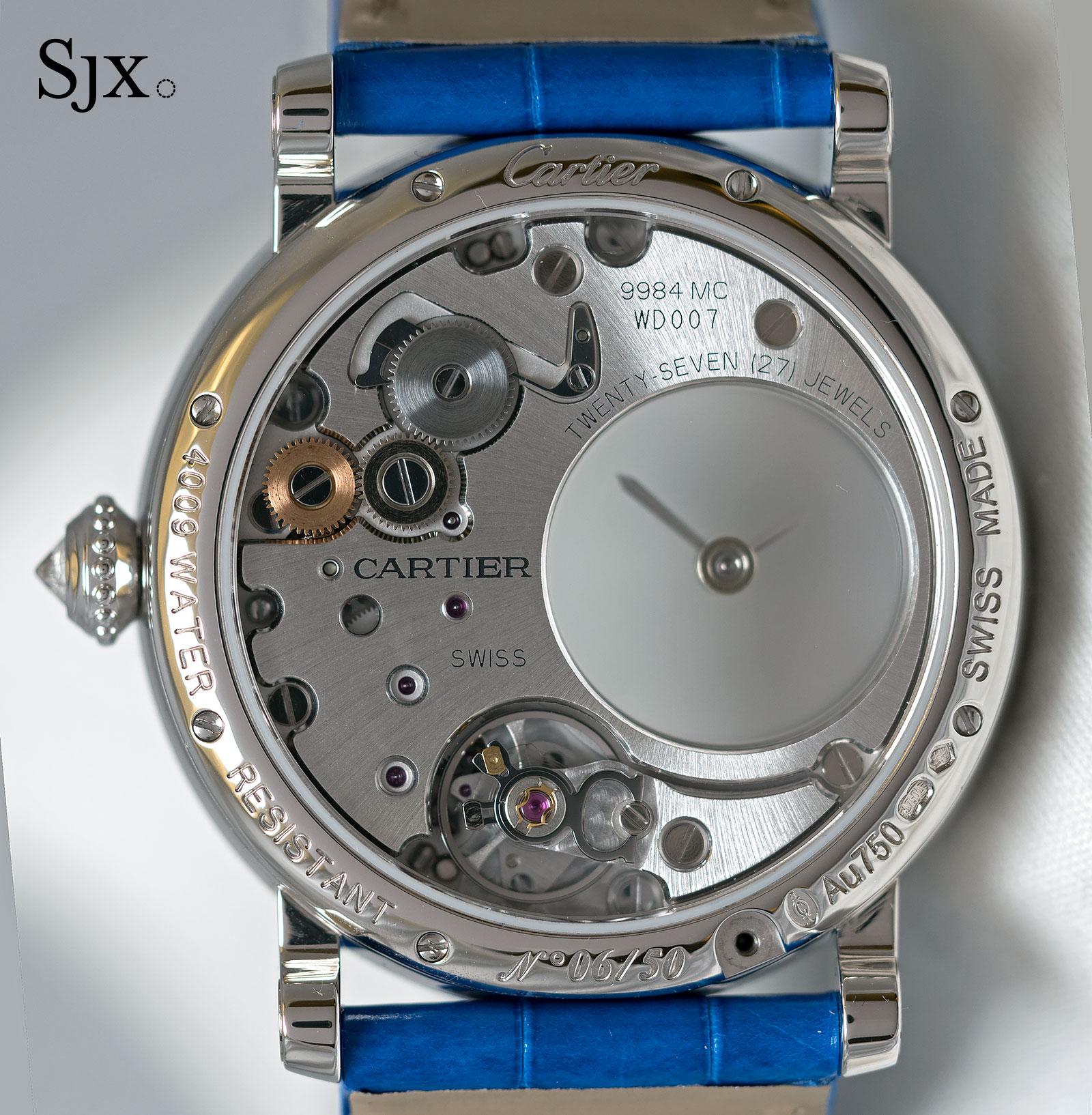 Cartier Rotonde de Cartier Mysterious Hour marquetry 3