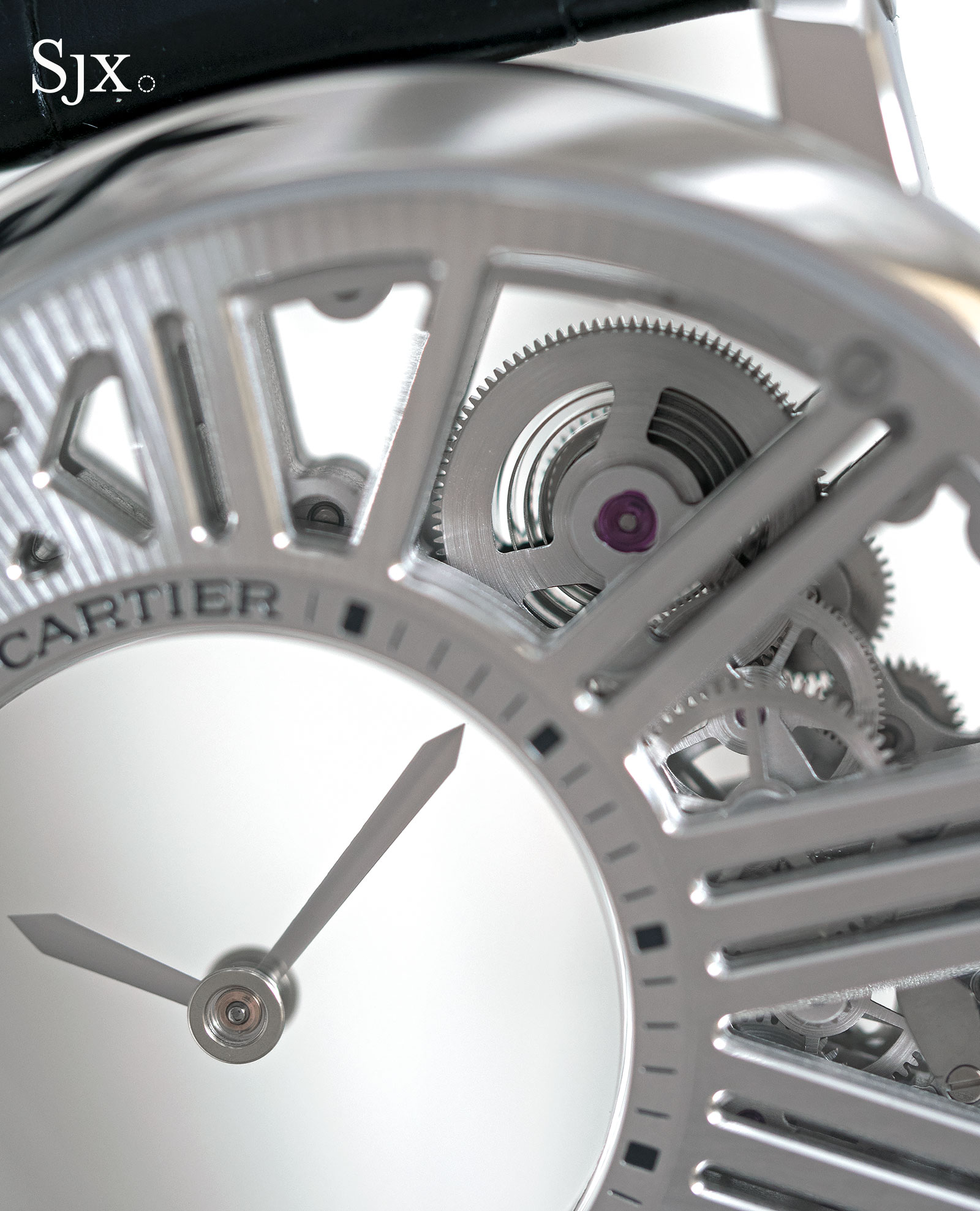 Cartier Rotonde de Cartier Skeleton Mysterious Hour 2