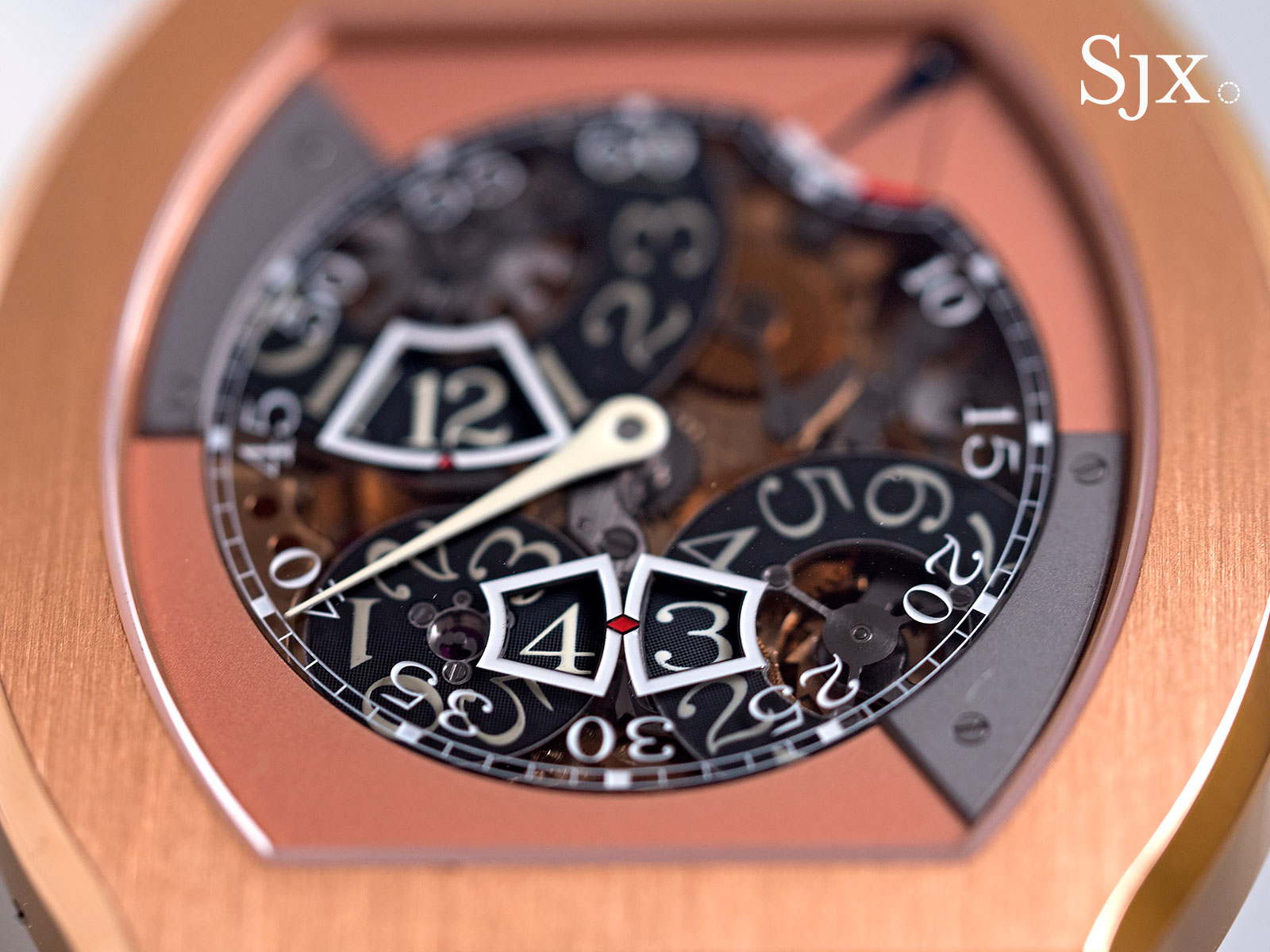 FP Journe Vagabondage III red gold 12