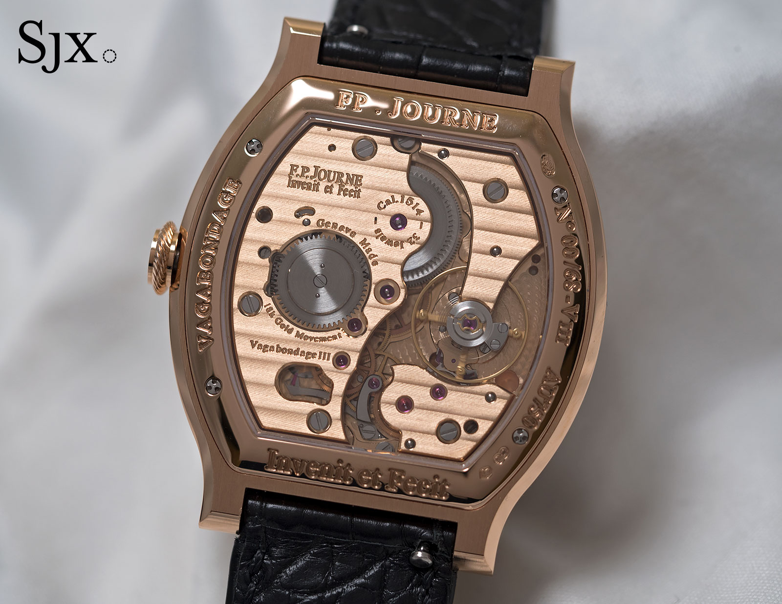 FP Journe Vagabondage III red gold 17