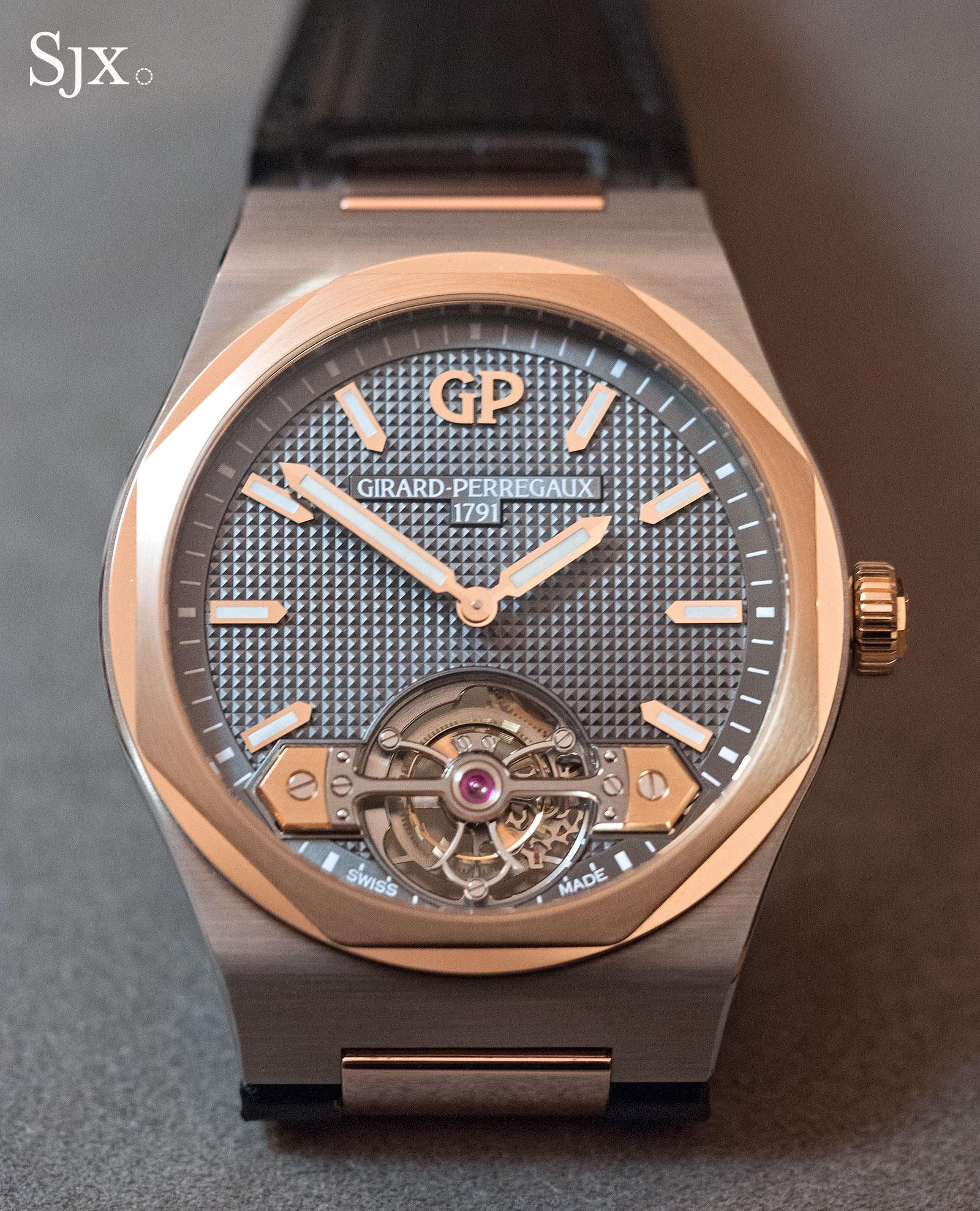 Girard-Perregaux Laureato Tourbillon titanium 1