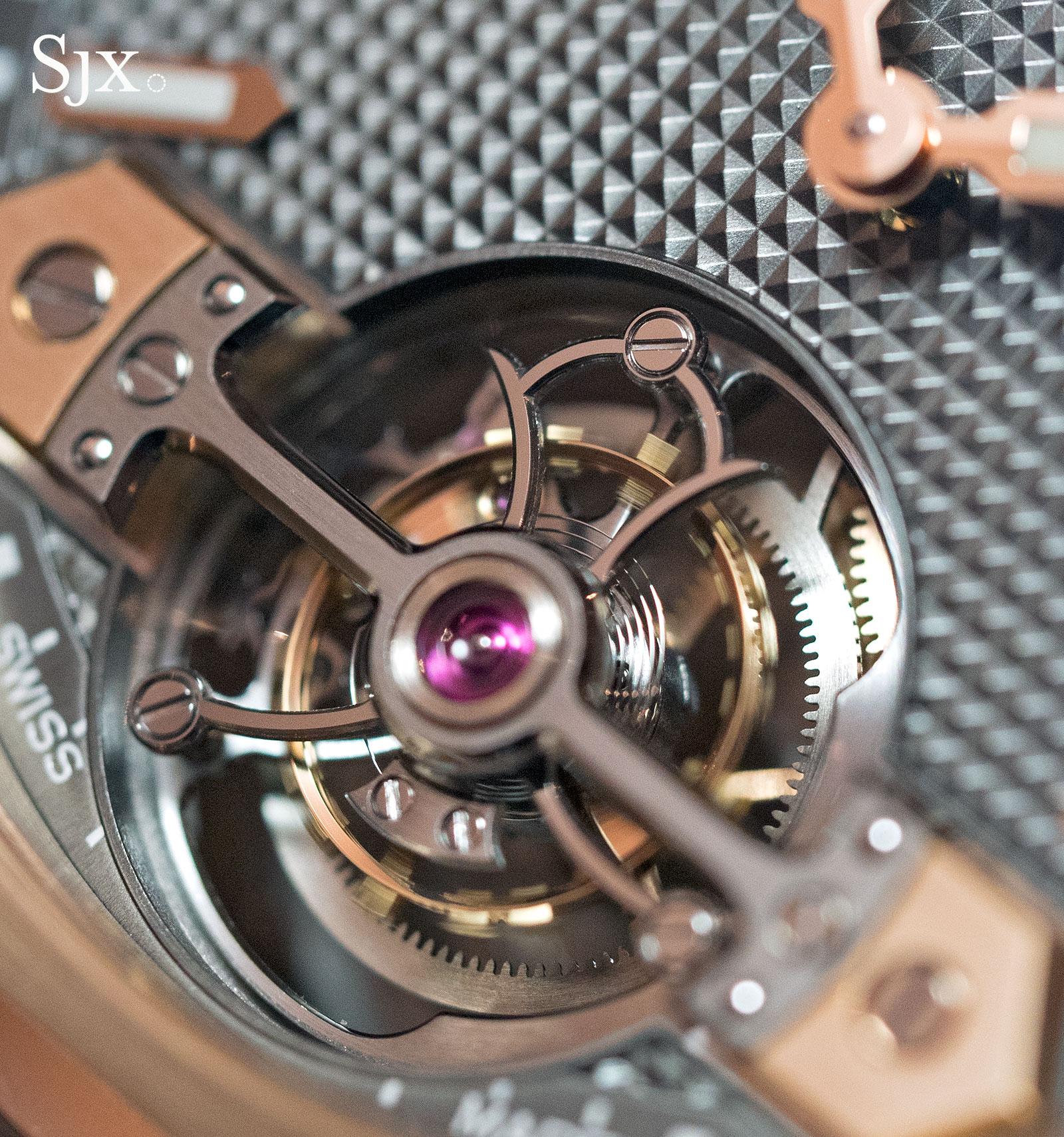 Girard-Perregaux Laureato Tourbillon titanium 3