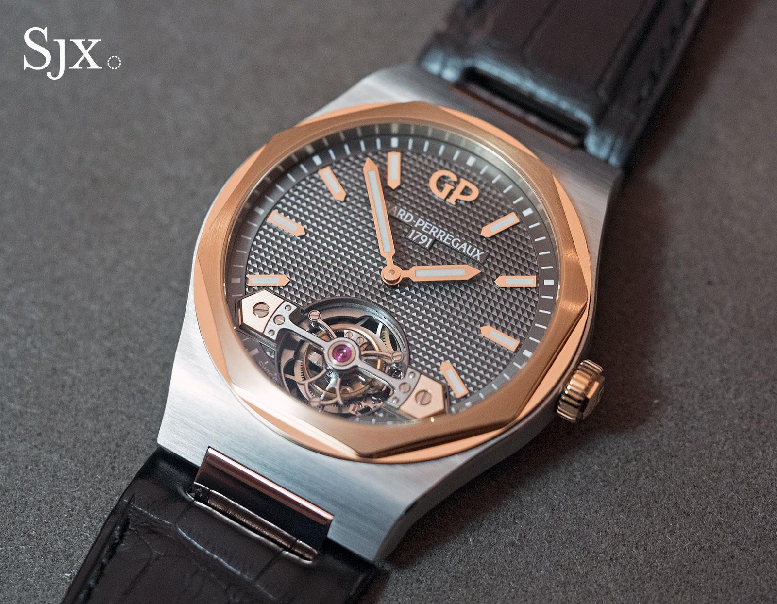 Girard-Perregaux Laureato Tourbillon titanium 5