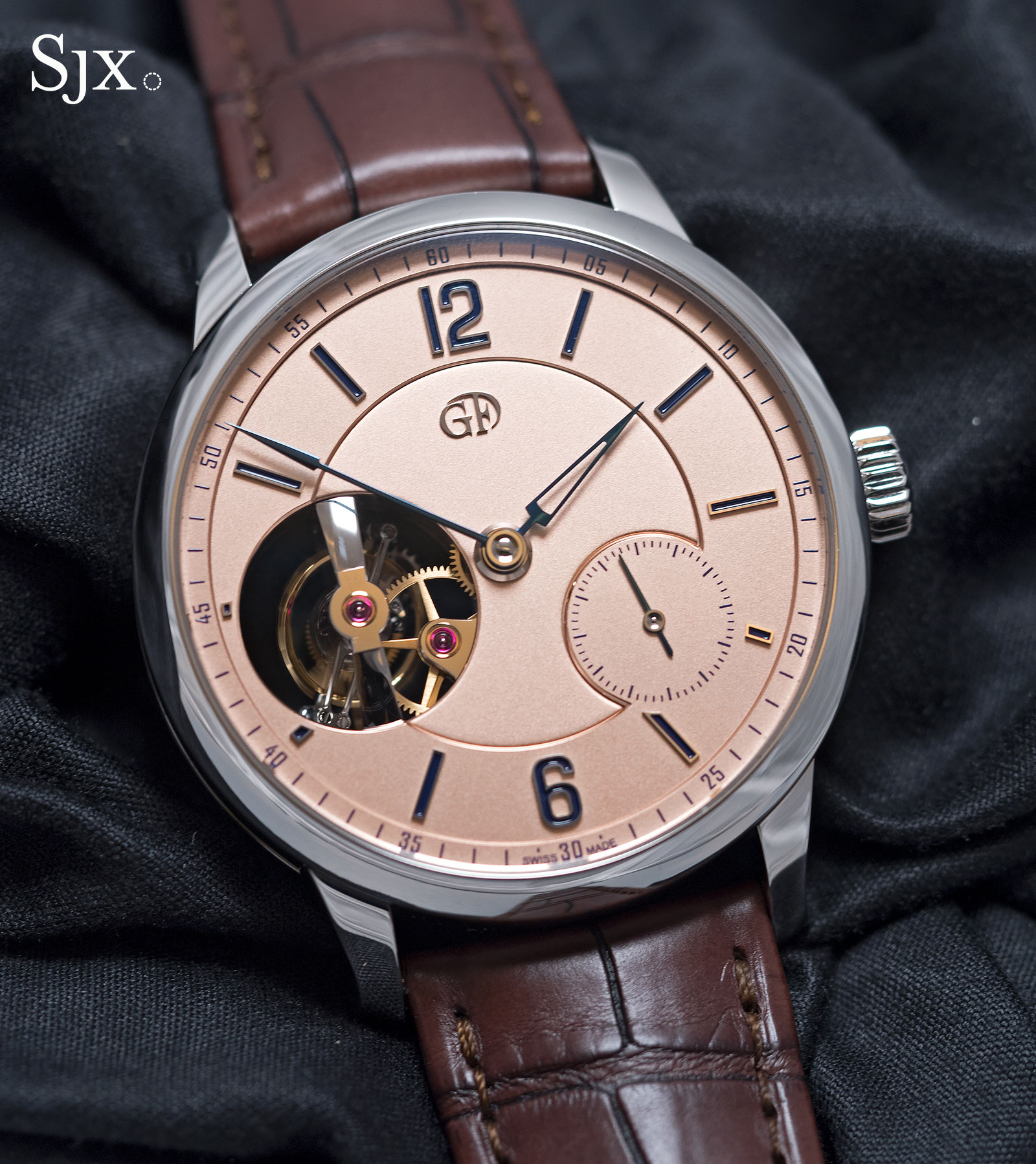 Greubel Forsey Tourbillon 24 Secondes Vision platinum 3
