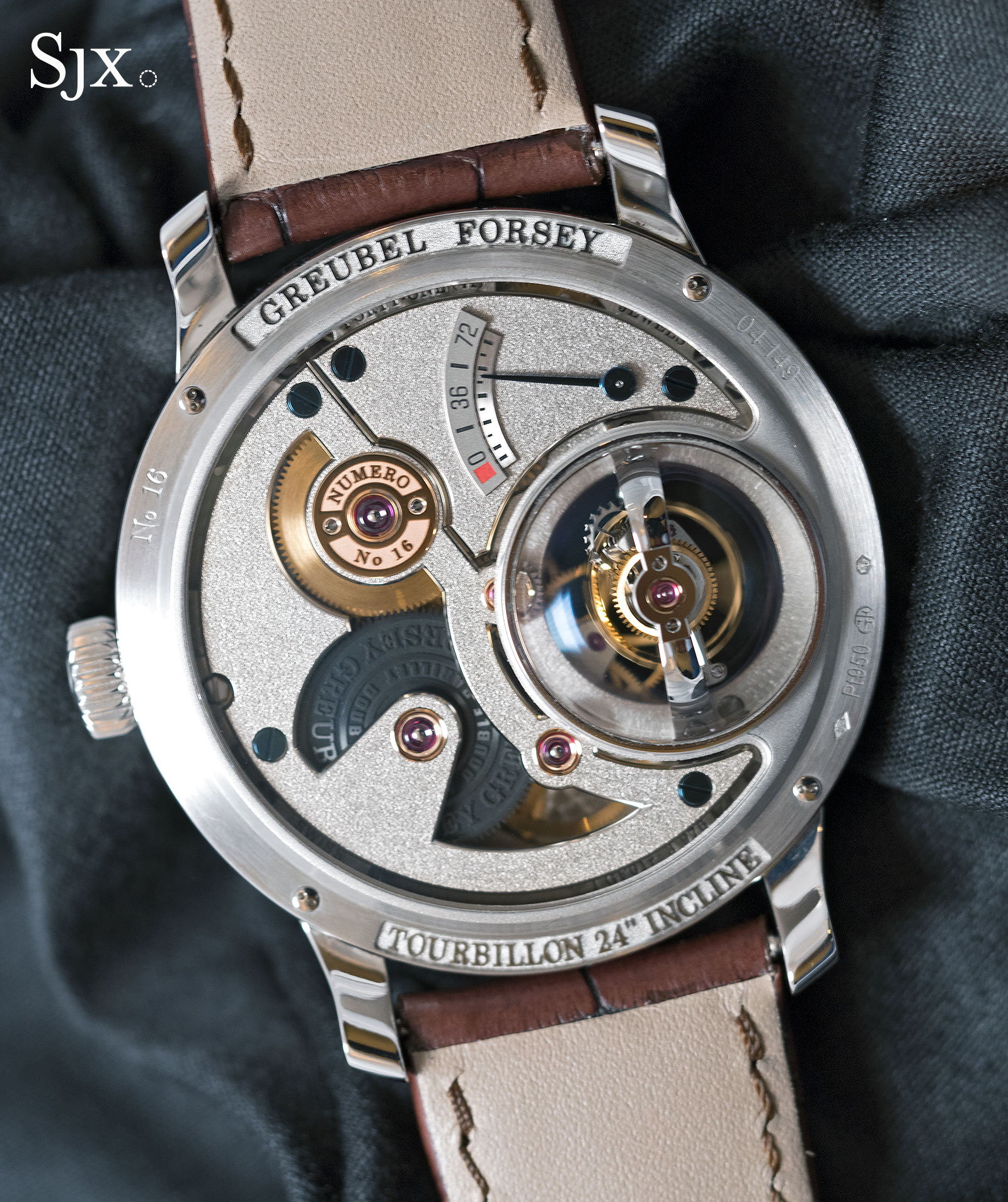 Greubel Forsey Tourbillon 24 Secondes Vision platinum 5