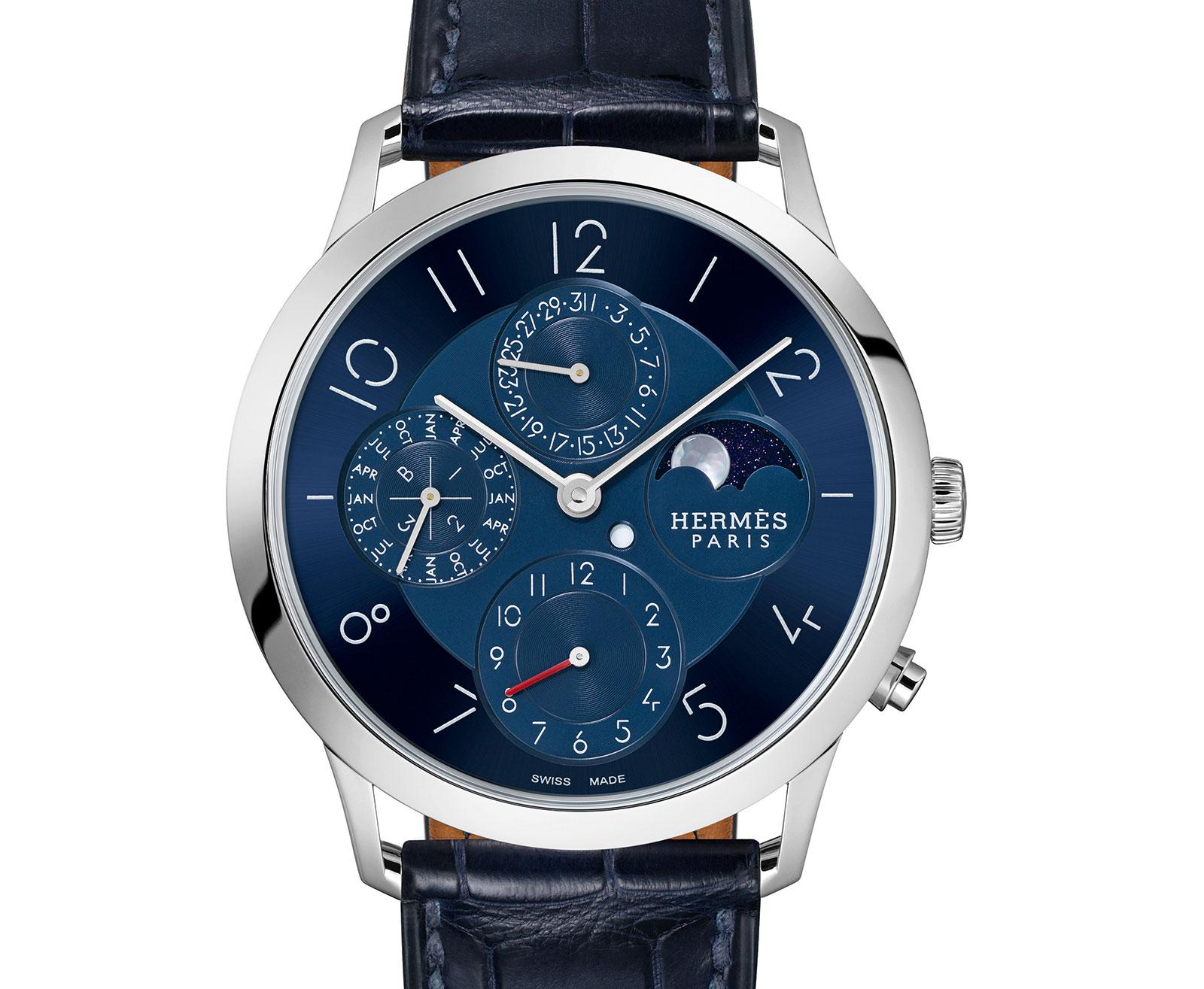 Hermes Slim d'Hermes Perpetual Calendar platinum 3