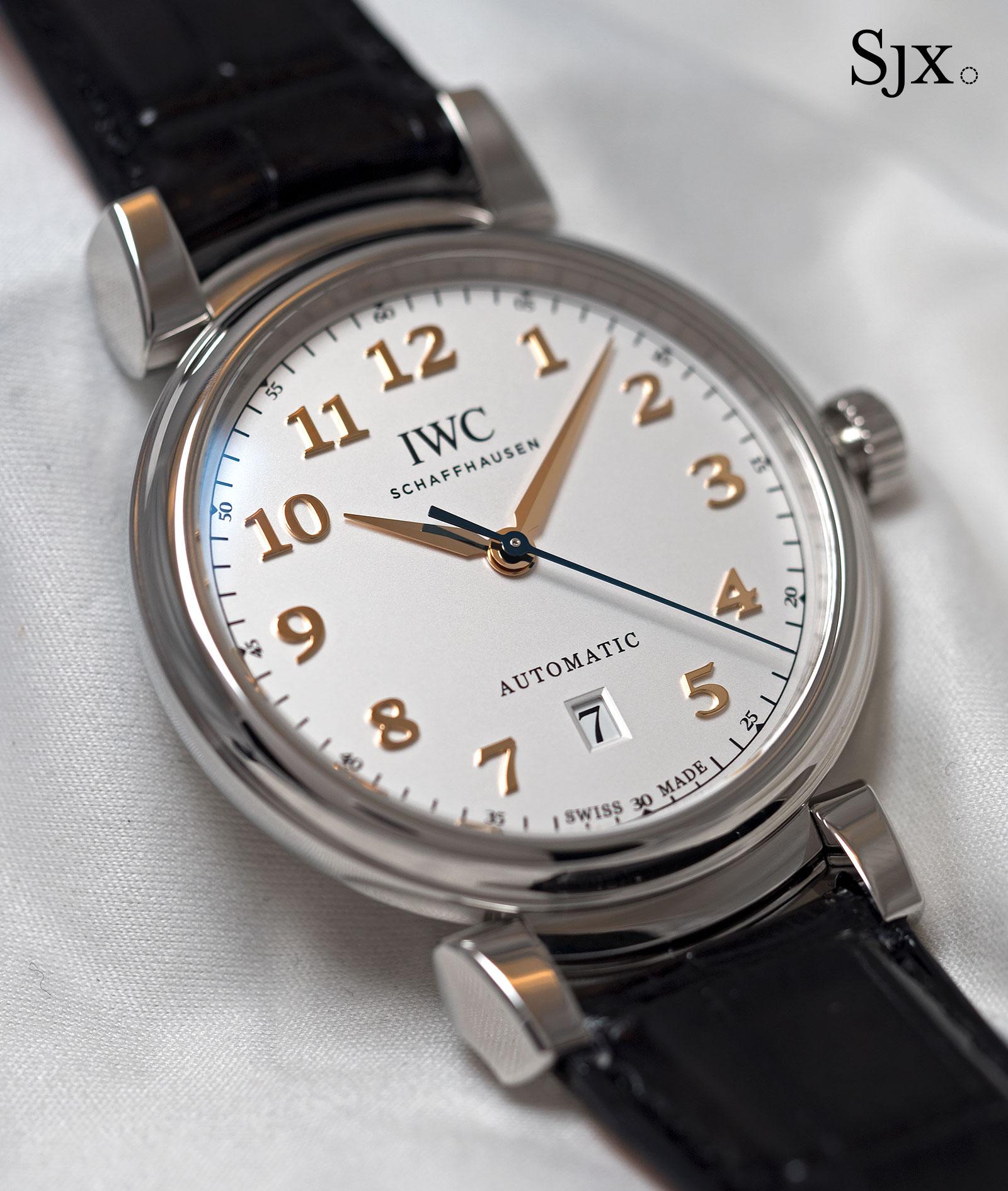 IWC Da Vinci Automatic steel 1
