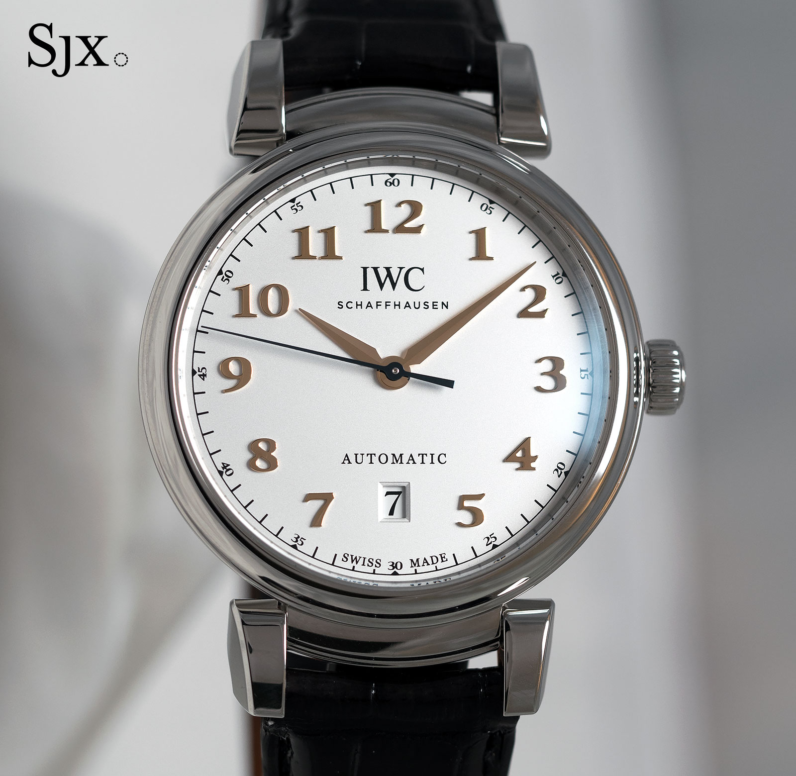 IWC Da Vinci Automatic steel 2