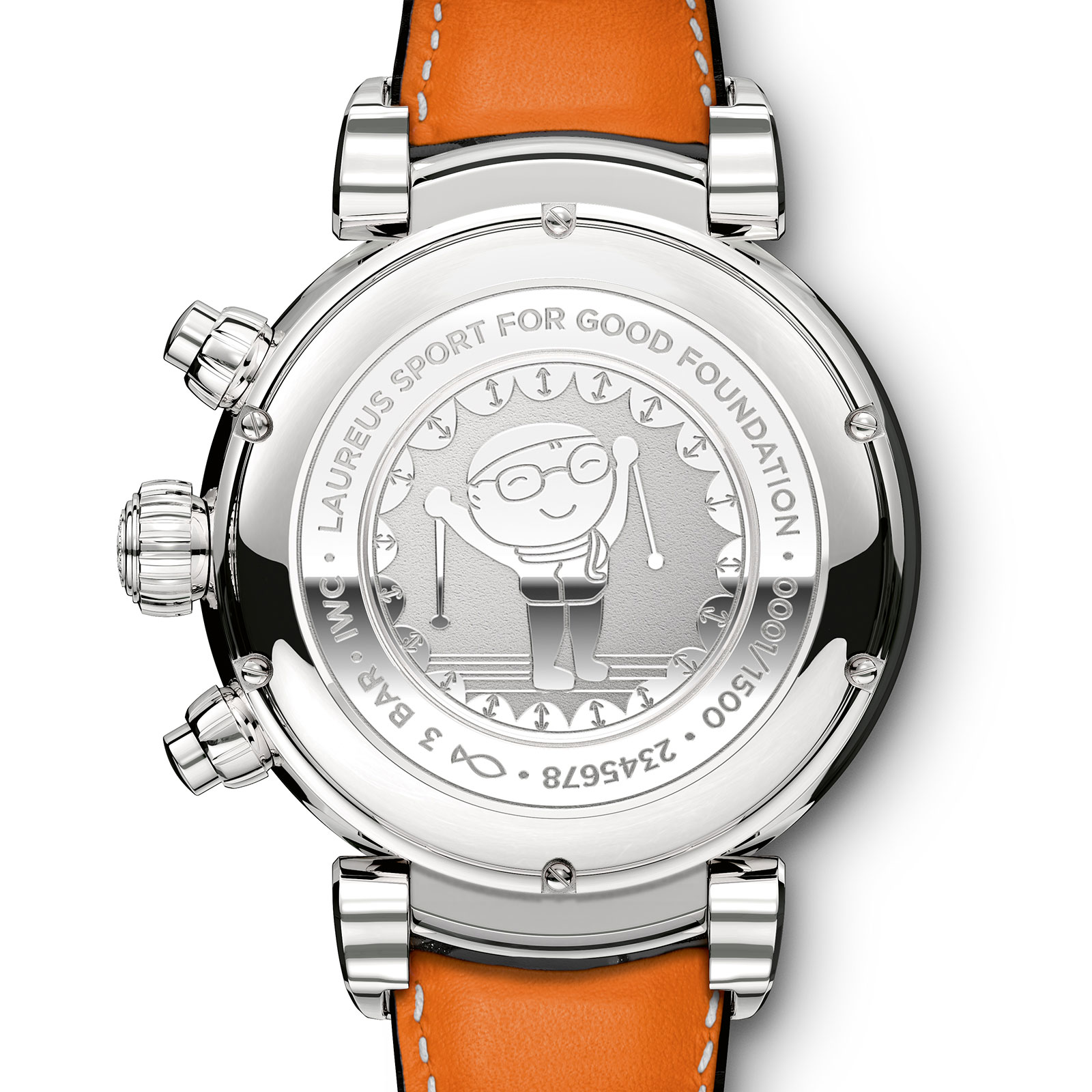 IWC Da Vinci Chronograph Laureus 1
