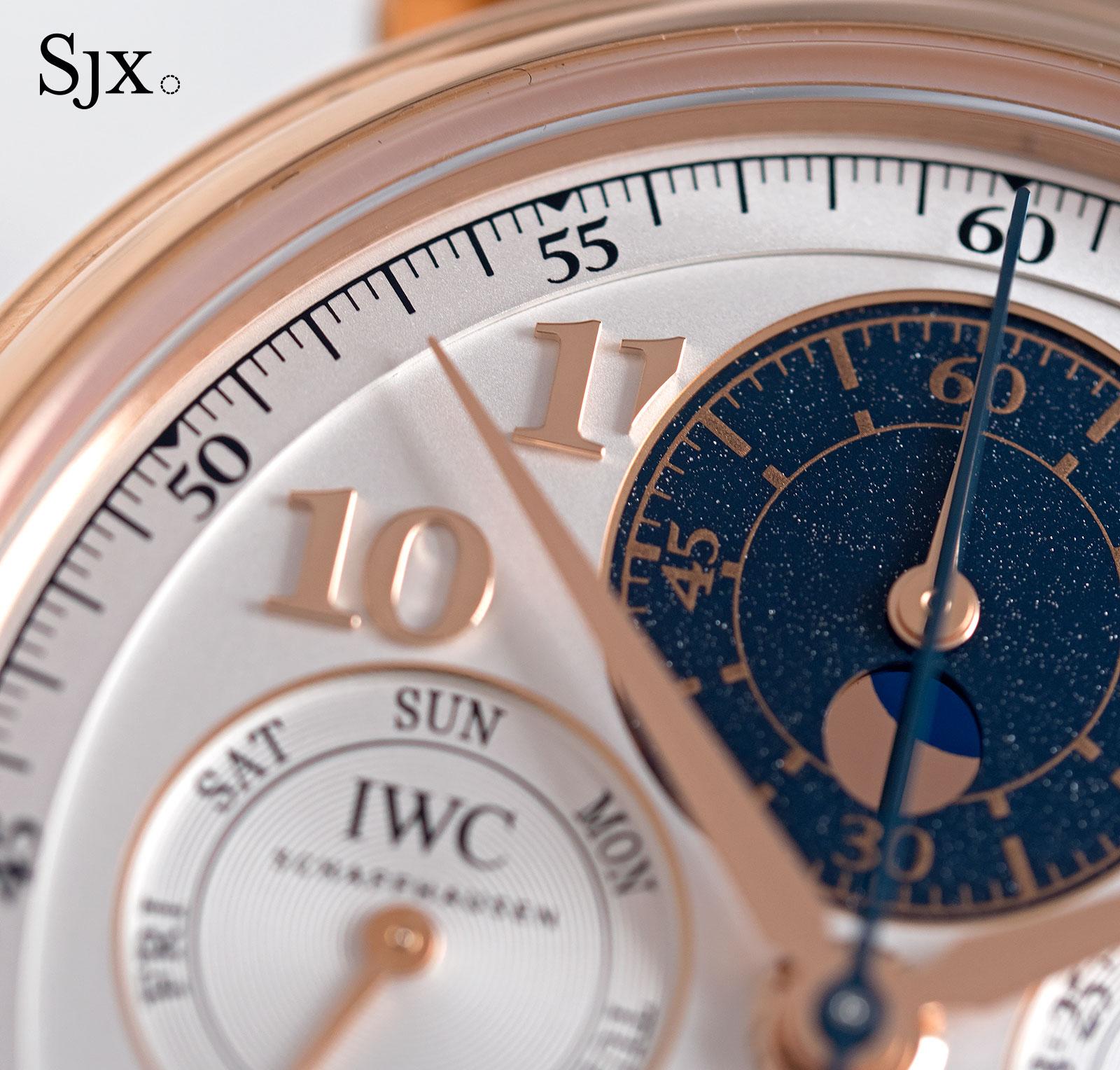 IWC Da Vinci Perpetual Calendar Chronograph red gold 2