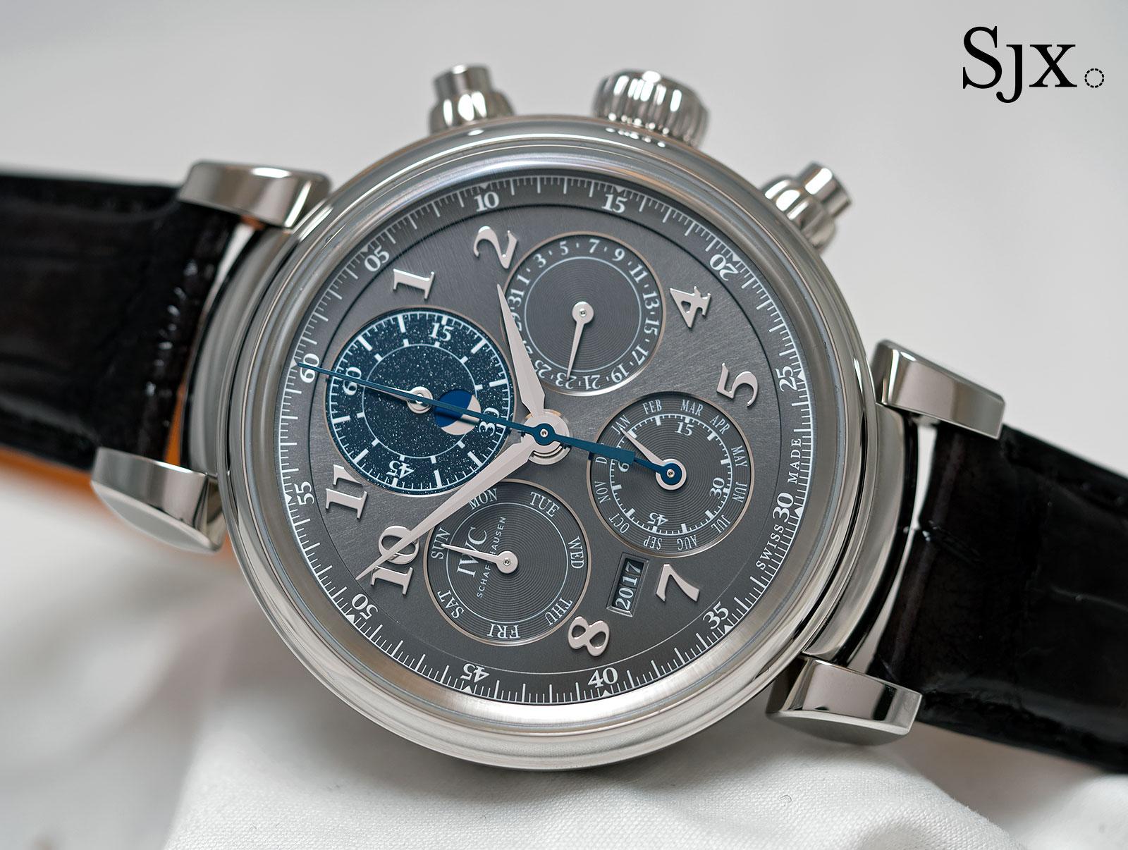 IWC Da Vinci Perpetual Calendar Chronograph steel 1