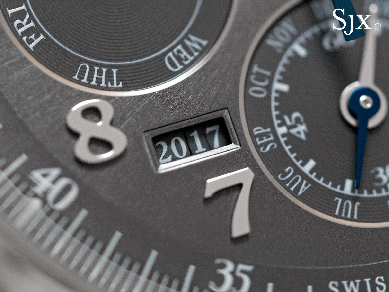 IWC Da Vinci Perpetual Calendar Chronograph steel 2