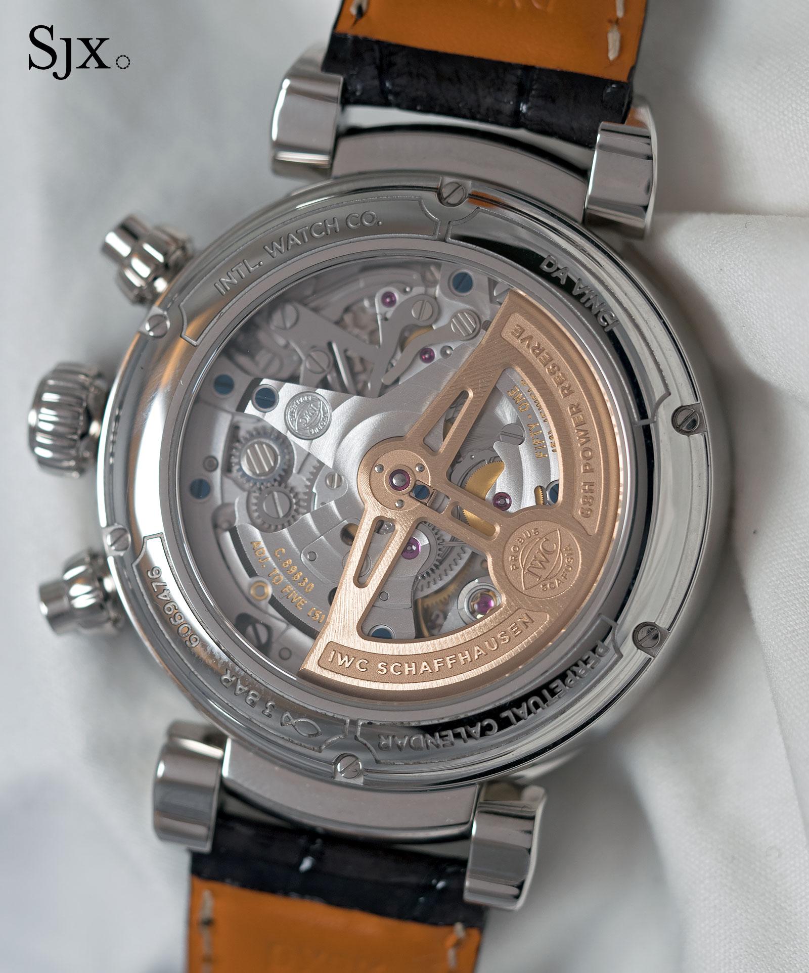 IWC Da Vinci Perpetual Calendar Chronograph steel 3