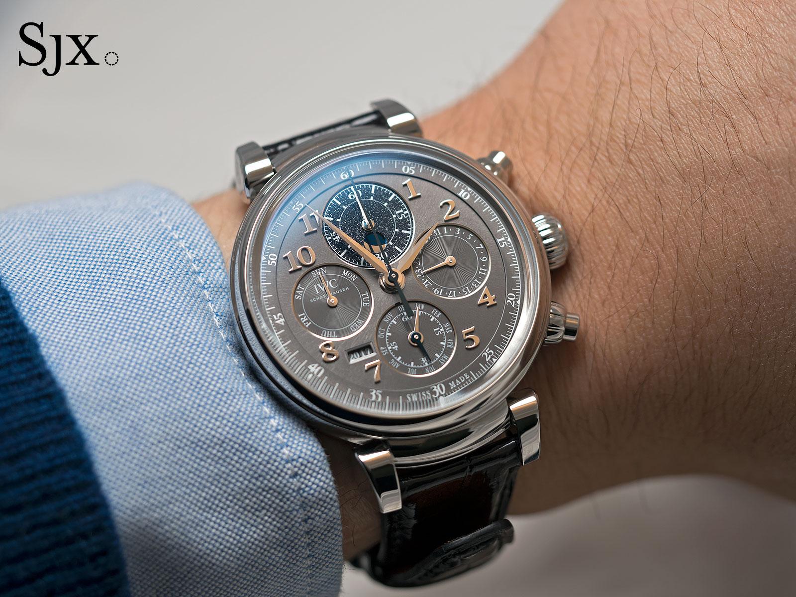 IWC Da Vinci Perpetual Calendar Chronograph steel 5