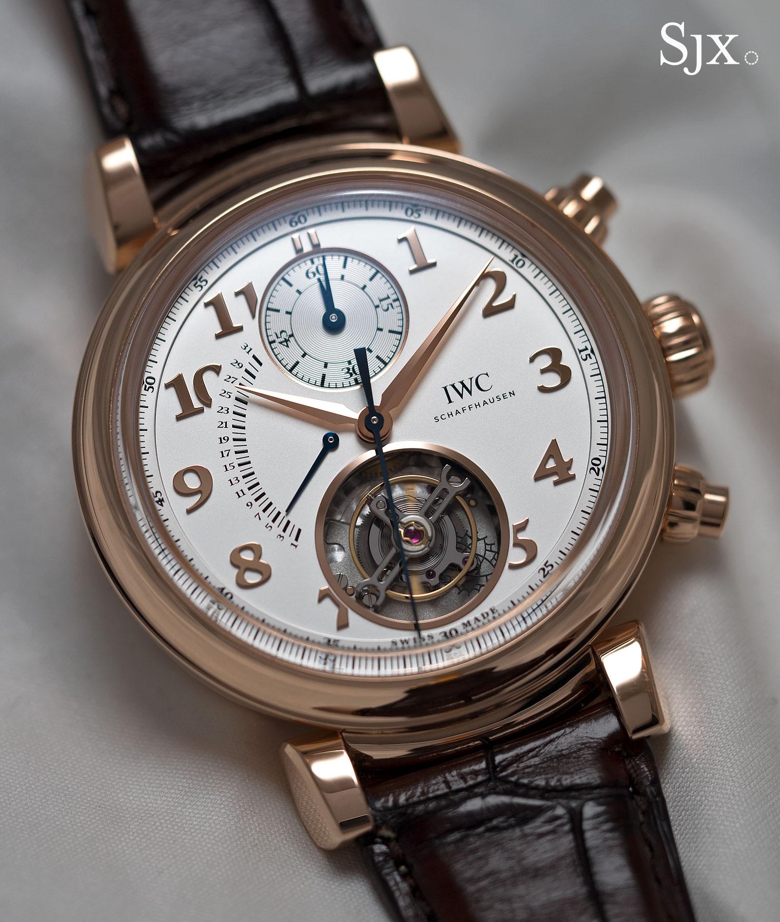 IWC Da Vinci Tourbillon Rétrograde Chronograph 1