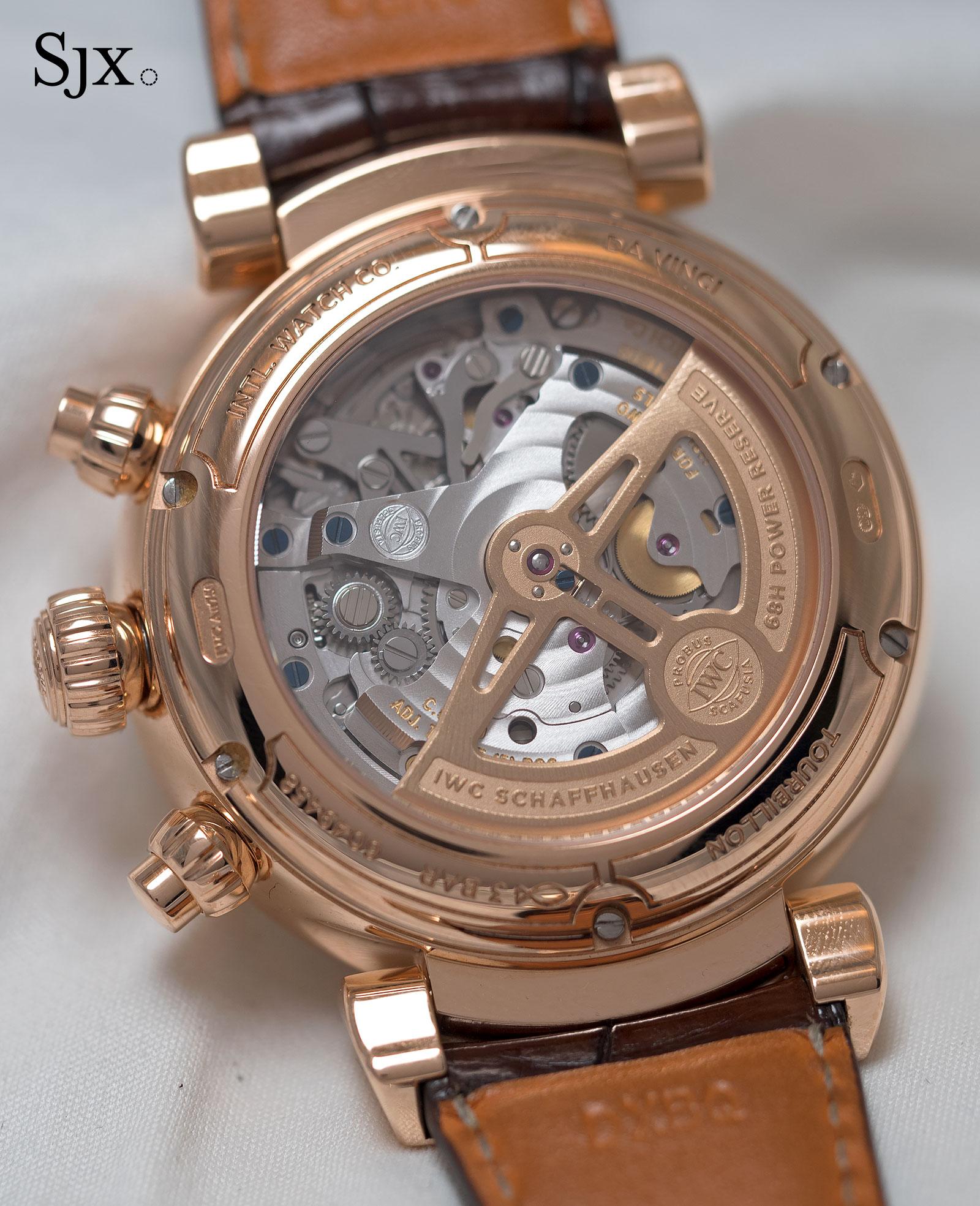 IWC Da Vinci Tourbillon Rétrograde Chronograph 5