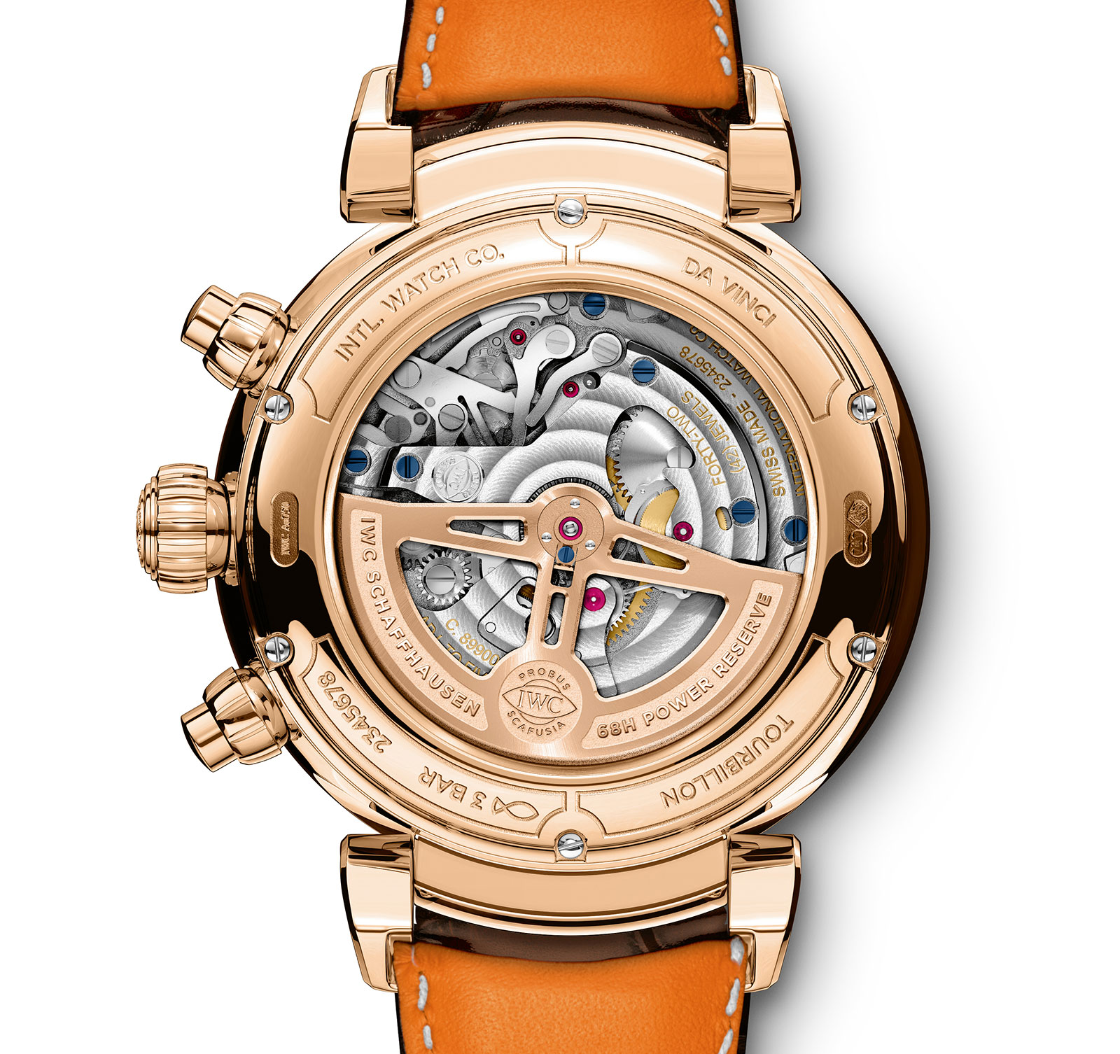 IWC Da Vinci Tourbillon Retrograde Chronograph 1
