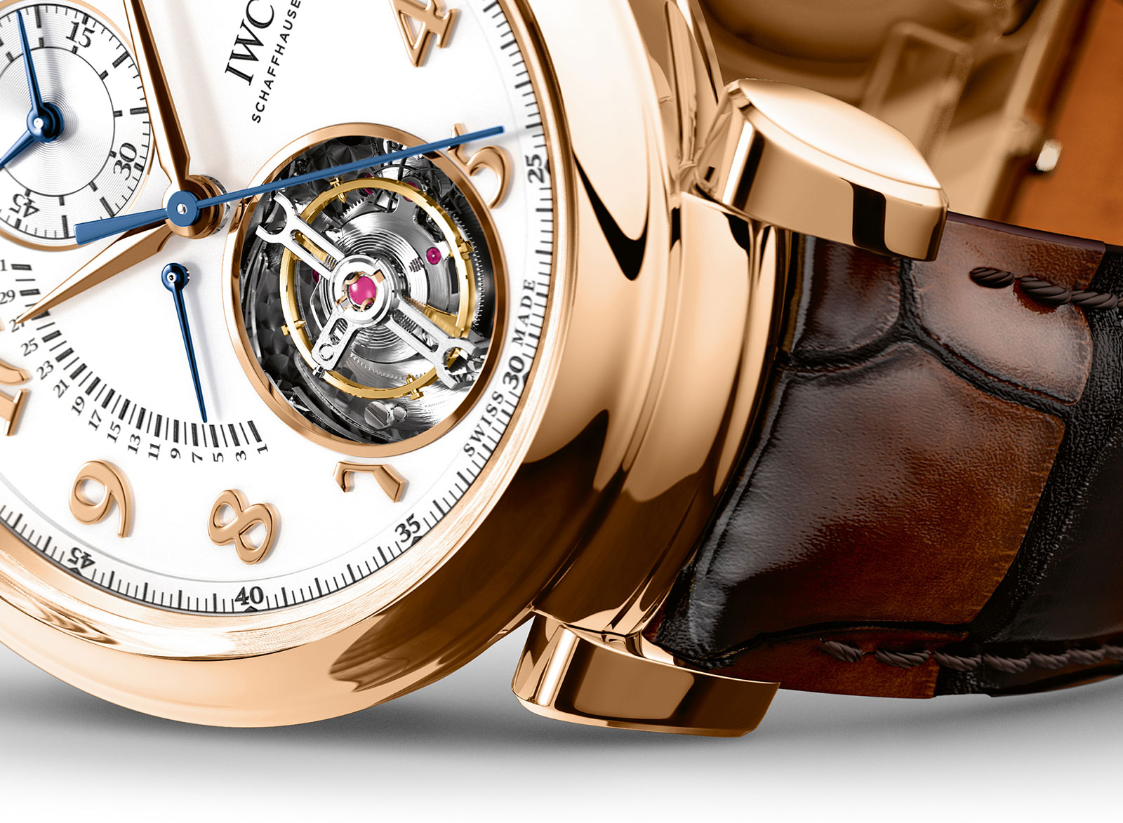 IWC Da Vinci Tourbillon Retrograde Chronograph 2
