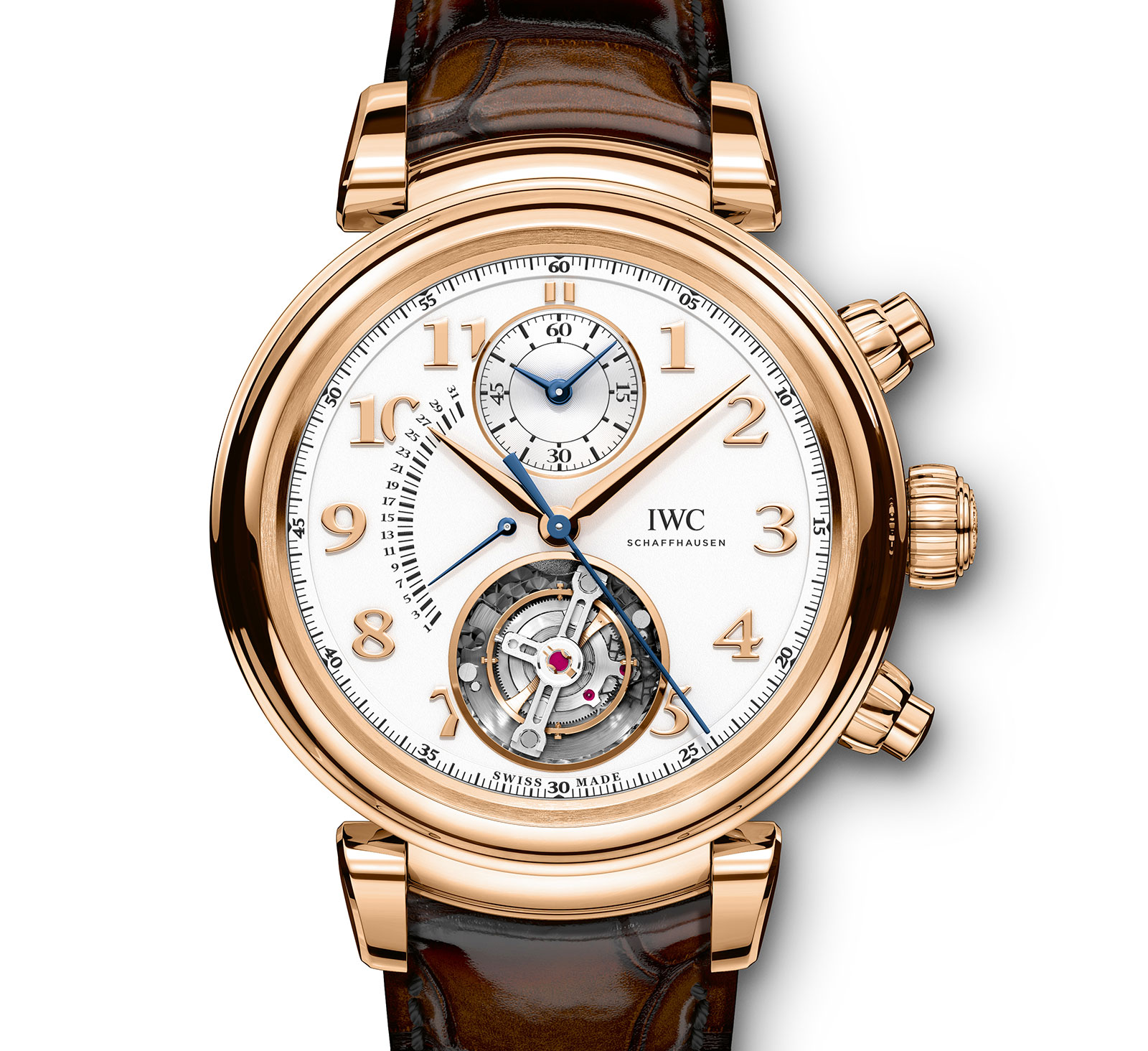 IWC Da Vinci Tourbillon Retrograde Chronograph 4