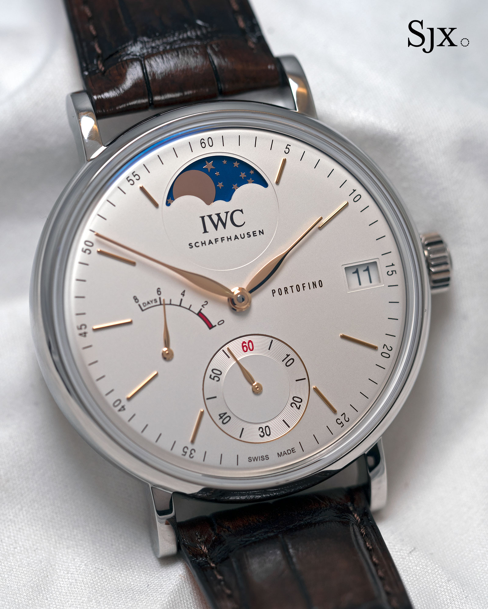 IWC Portofino Hand-Wound Eight Days Moon Phase 1