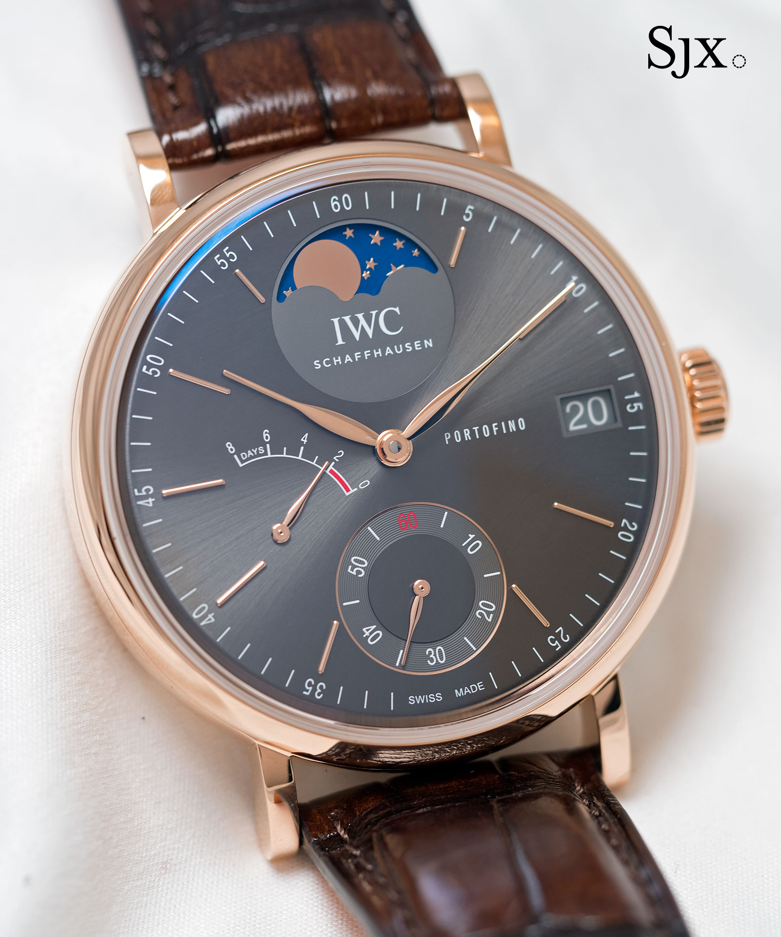 IWC Portofino Hand-Wound Eight Days Moon Phase 3