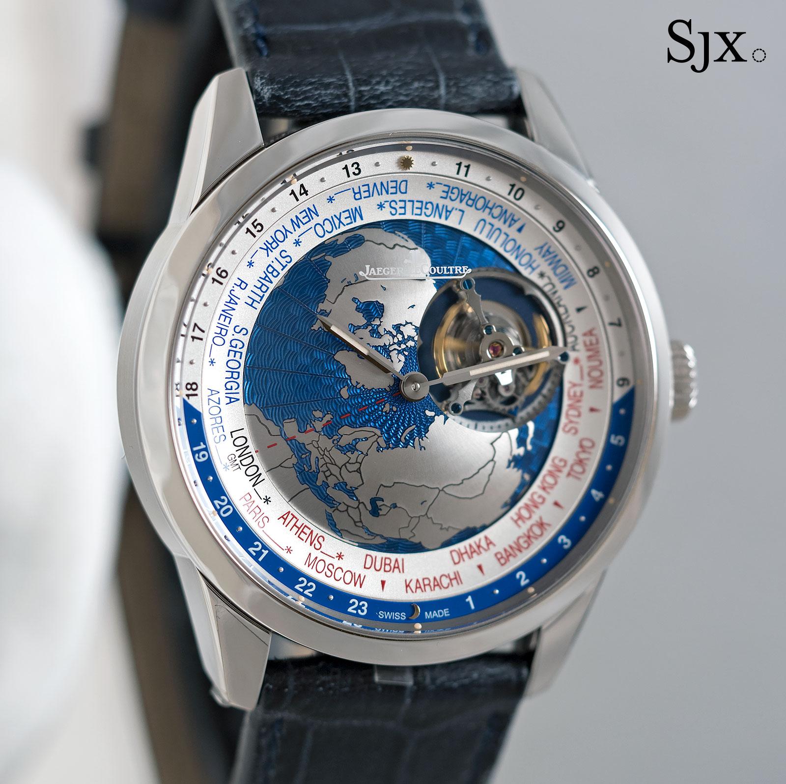 Jaeger-LeCoultre Geophysic Tourbillon Universal Time 1