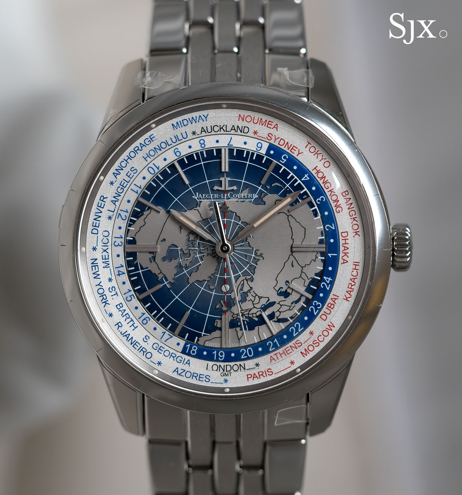Jaeger-LeCoultre Geophysic Universal Time bracelet