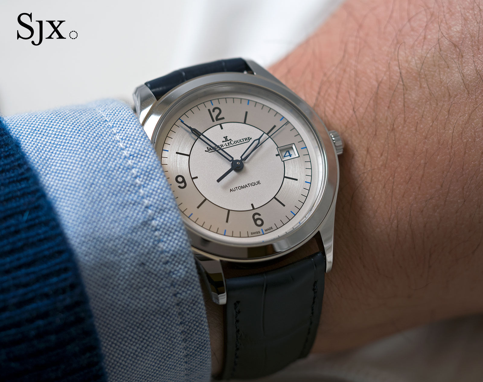 Jaeger-LeCoultre Master Control Date sector dial 3