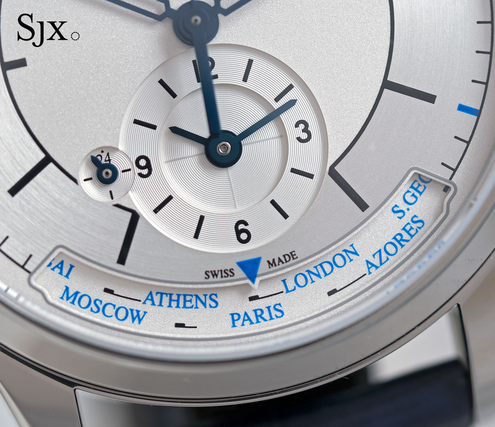Jaeger-LeCoultre Master Control Geographic sector dial 1