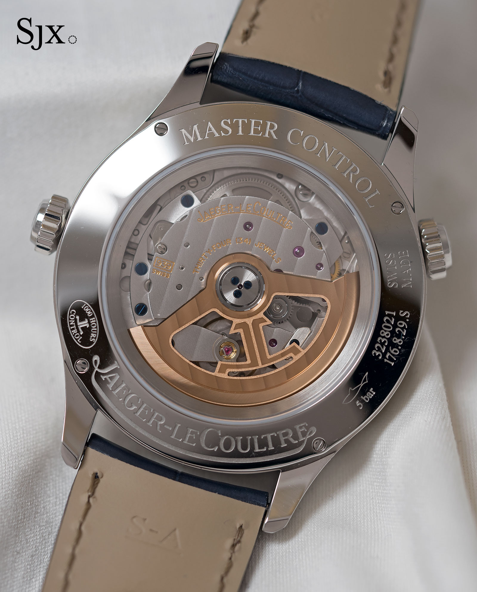 Jaeger-LeCoultre Master Control Geographic sector dial 3
