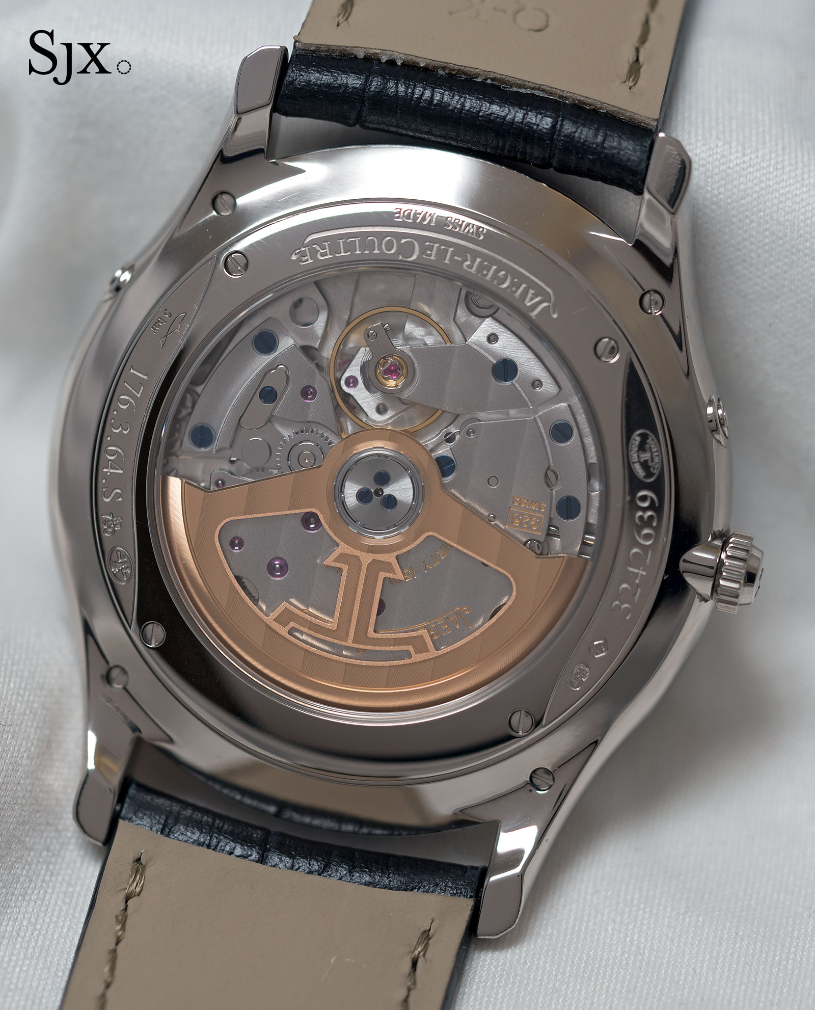 Jaeger-LeCoultre Master Ultra Thin Moon white gold grey 3
