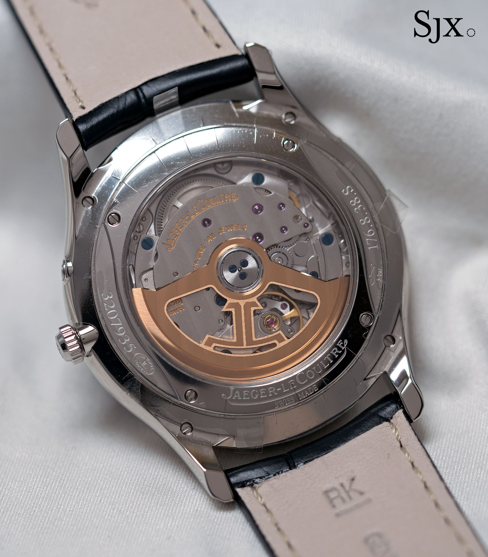 Jaeger-LeCoultre Master Ultra Thin Reserve de marche blue dial 4