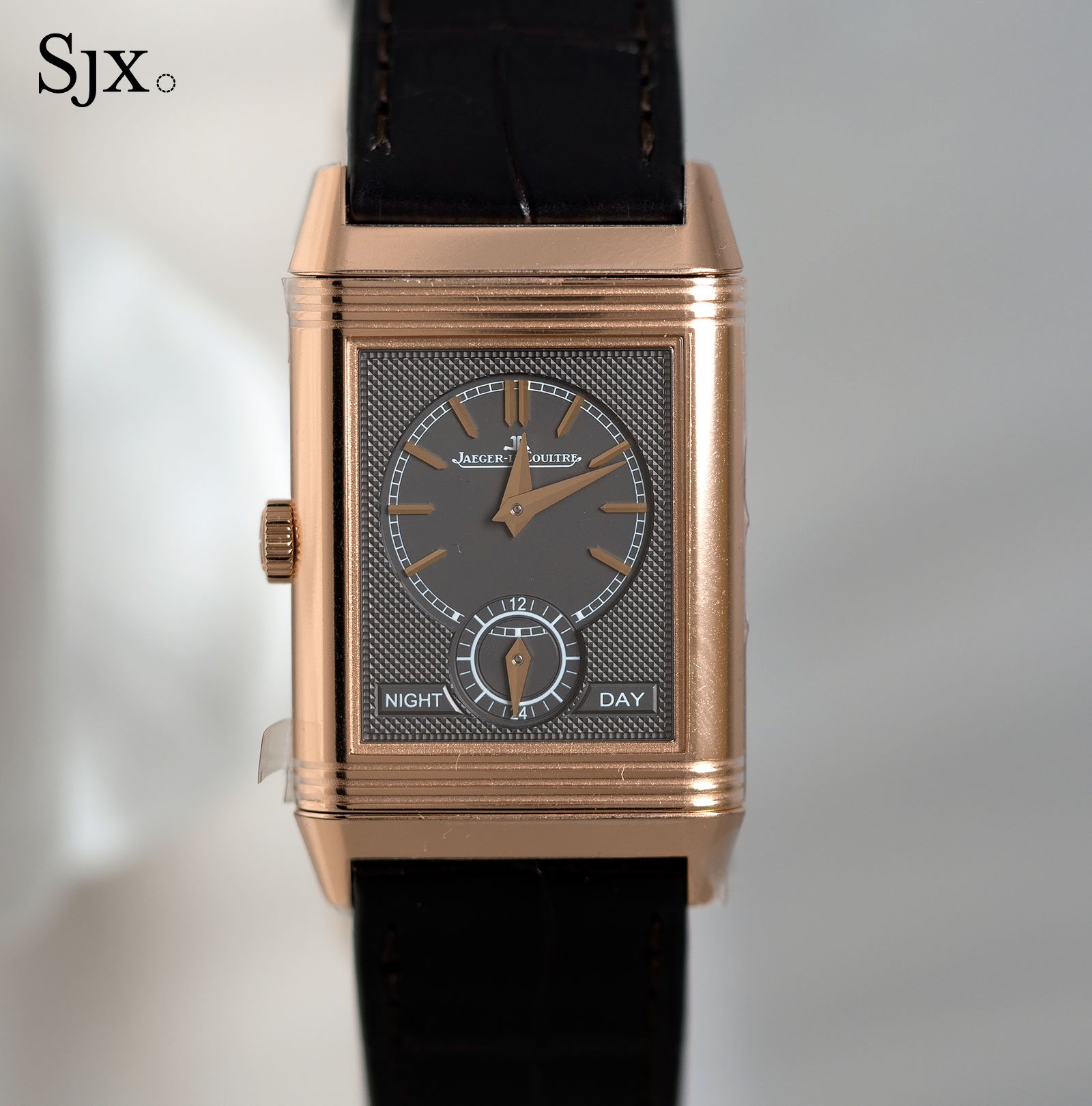 Jaeger-LeCoultre Reverso Tribute Duoface pink gold 2
