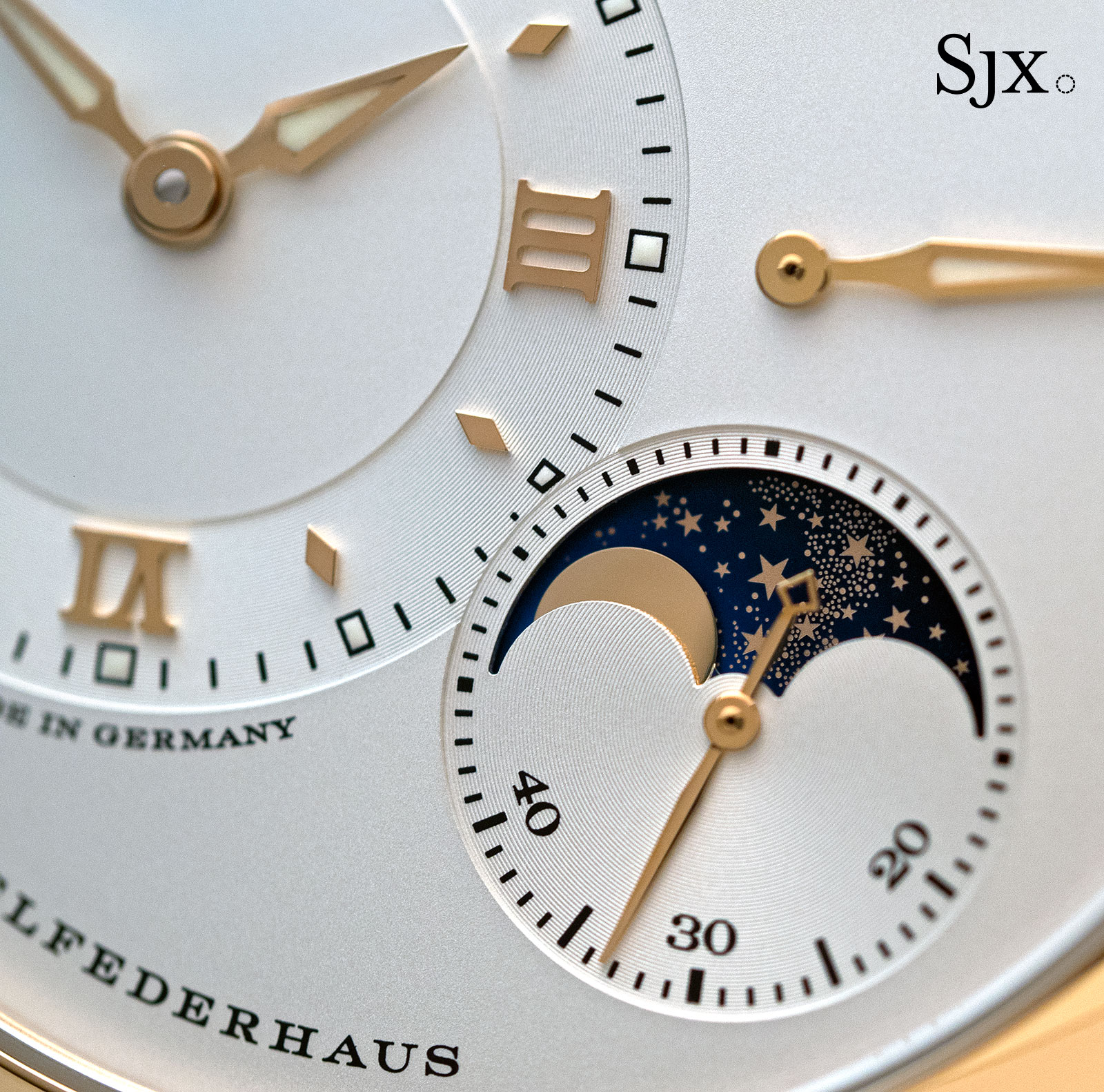 Lange 1 Moon Phase pink gold