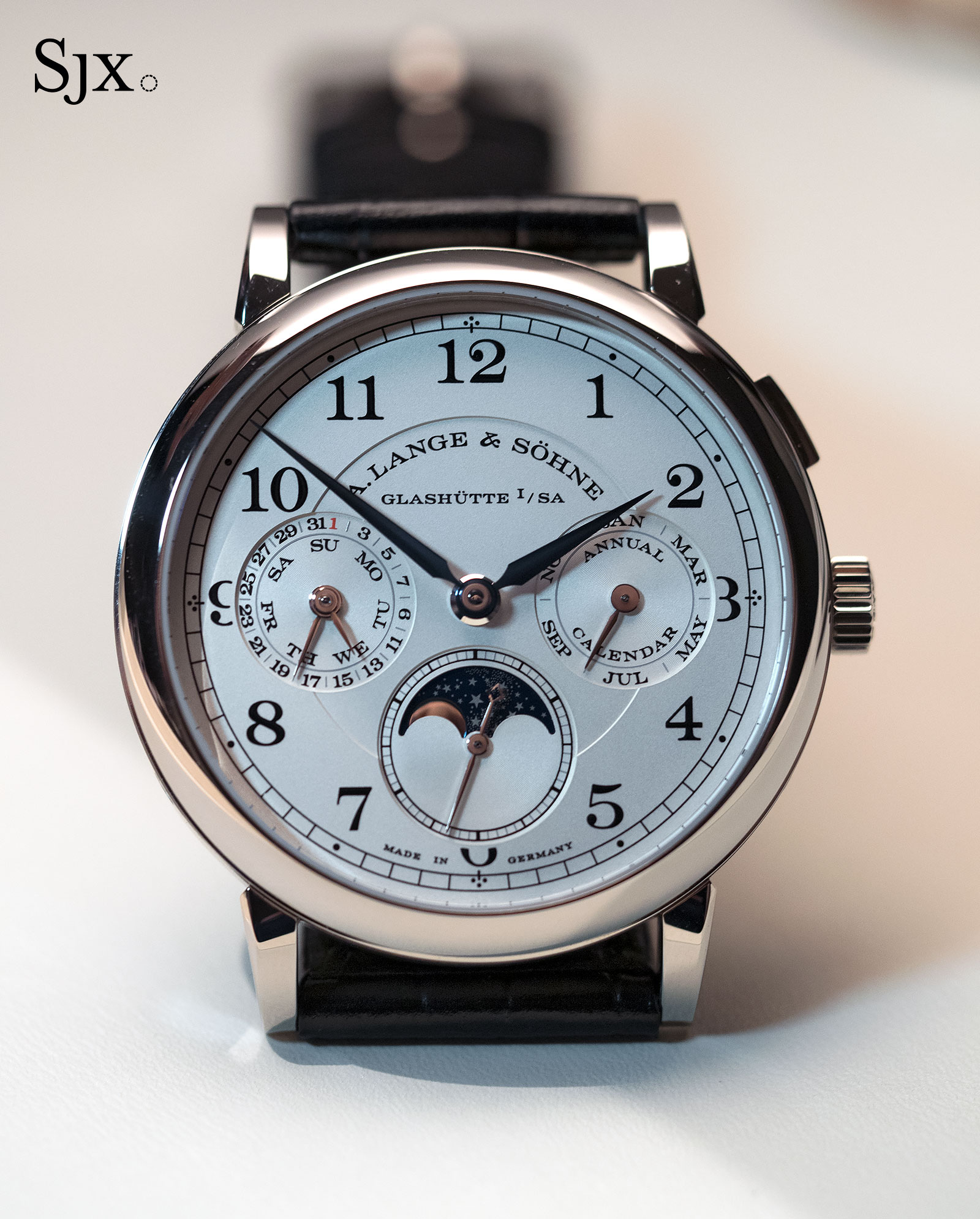 Lange 1815 Annual Calendar white gold 1