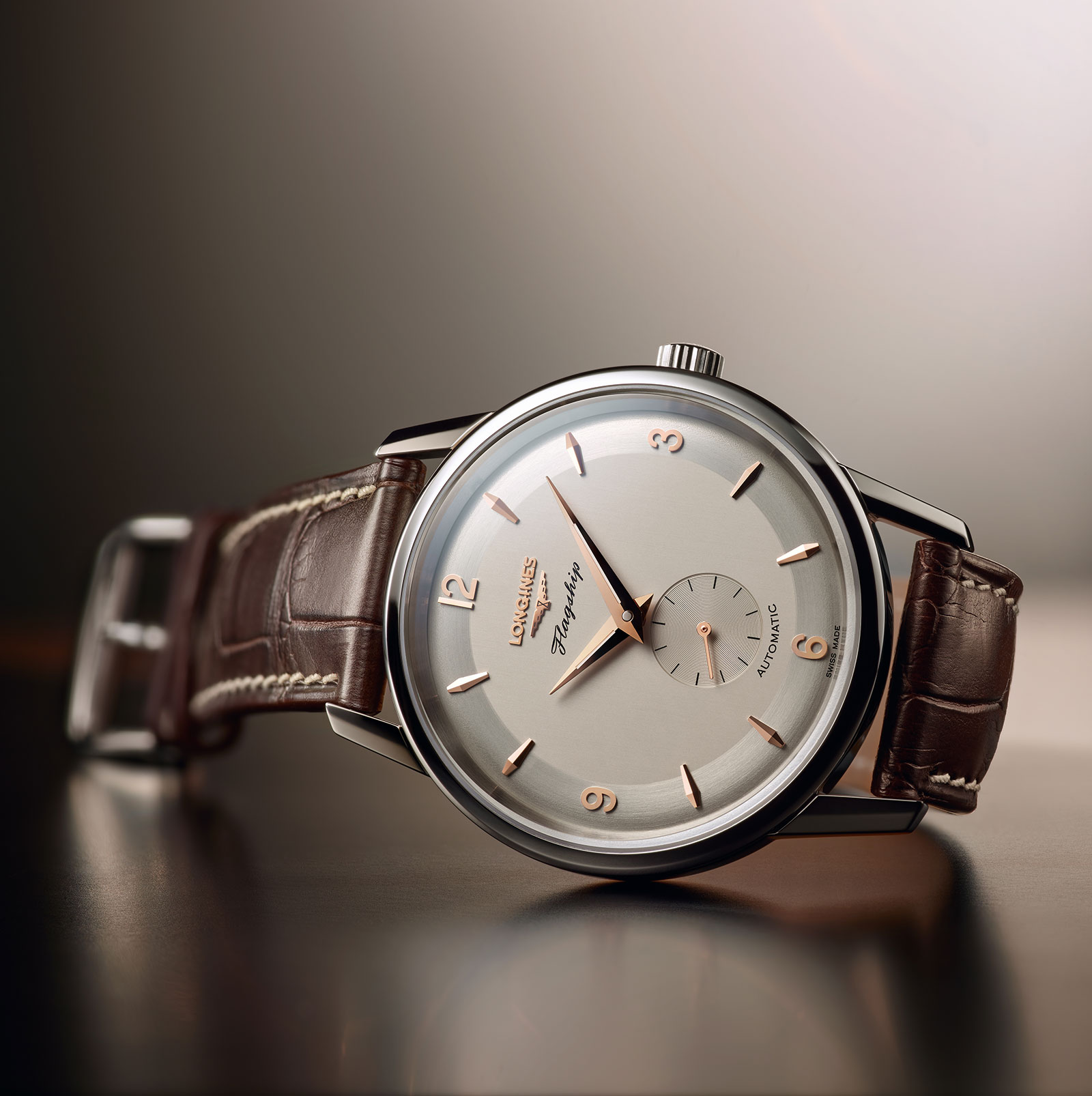 Longines Flagship Heritage 60th Anniversary steel 1