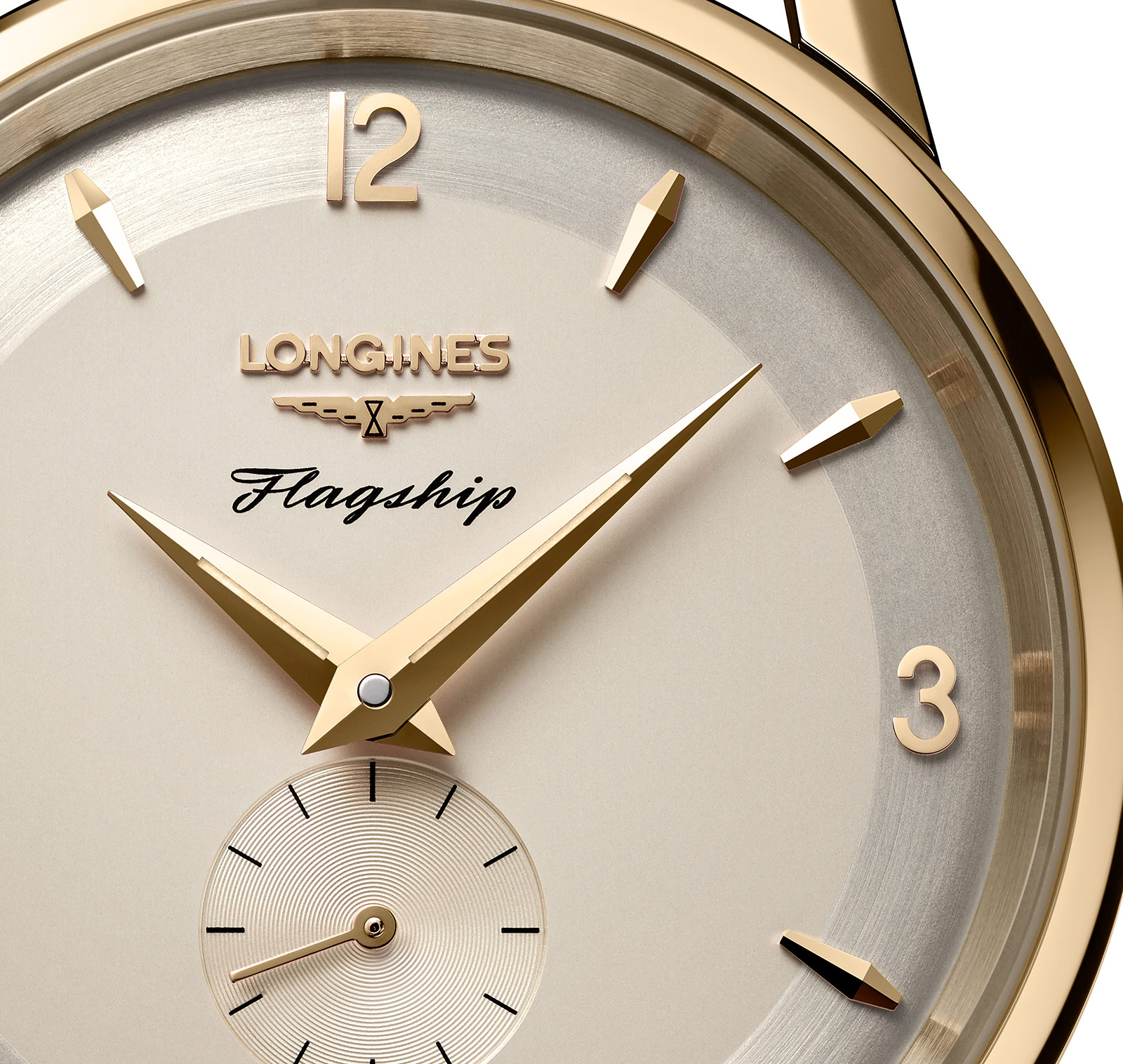 Longines Flagship Heritage 60th Anniversary yellow gold