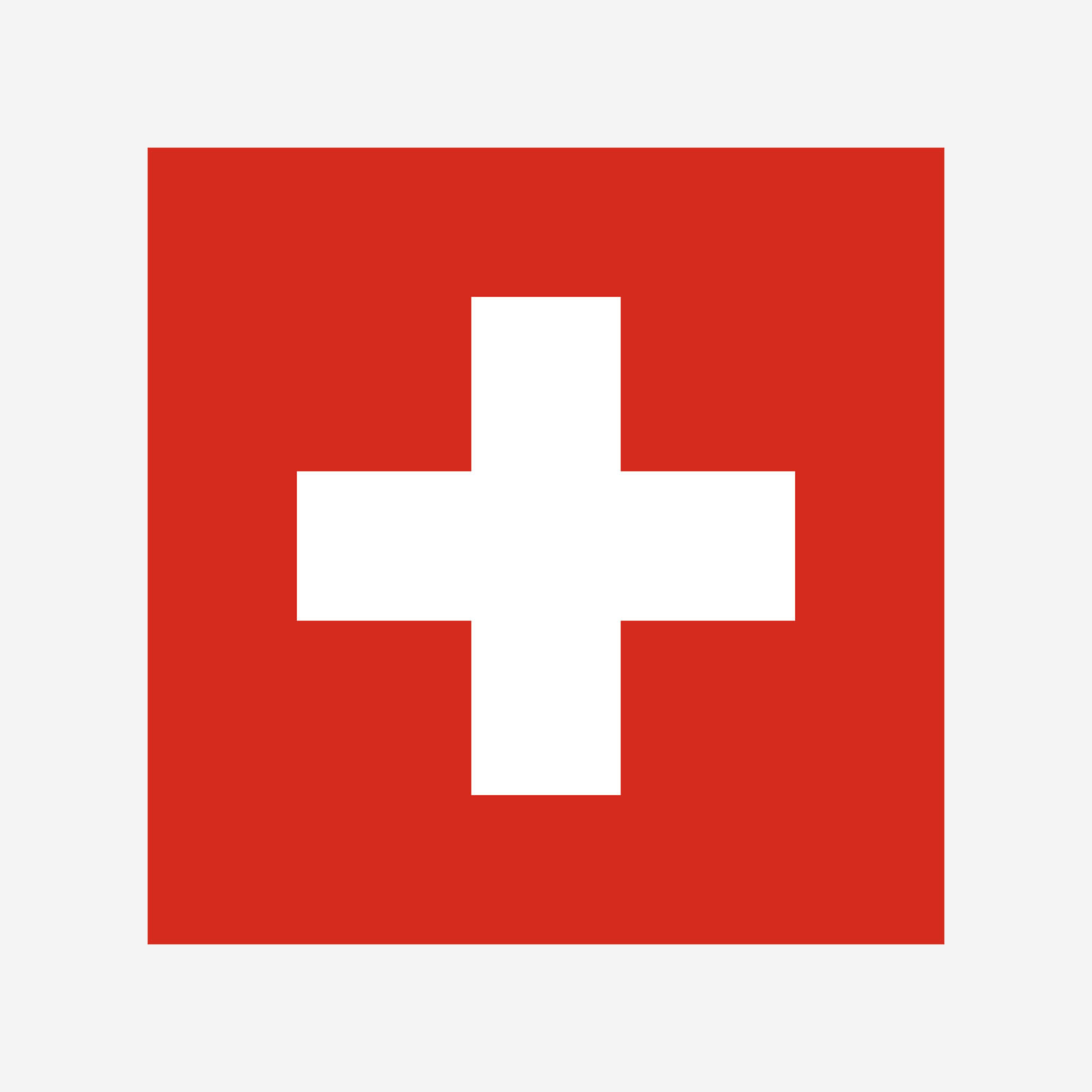 Swiss flag header