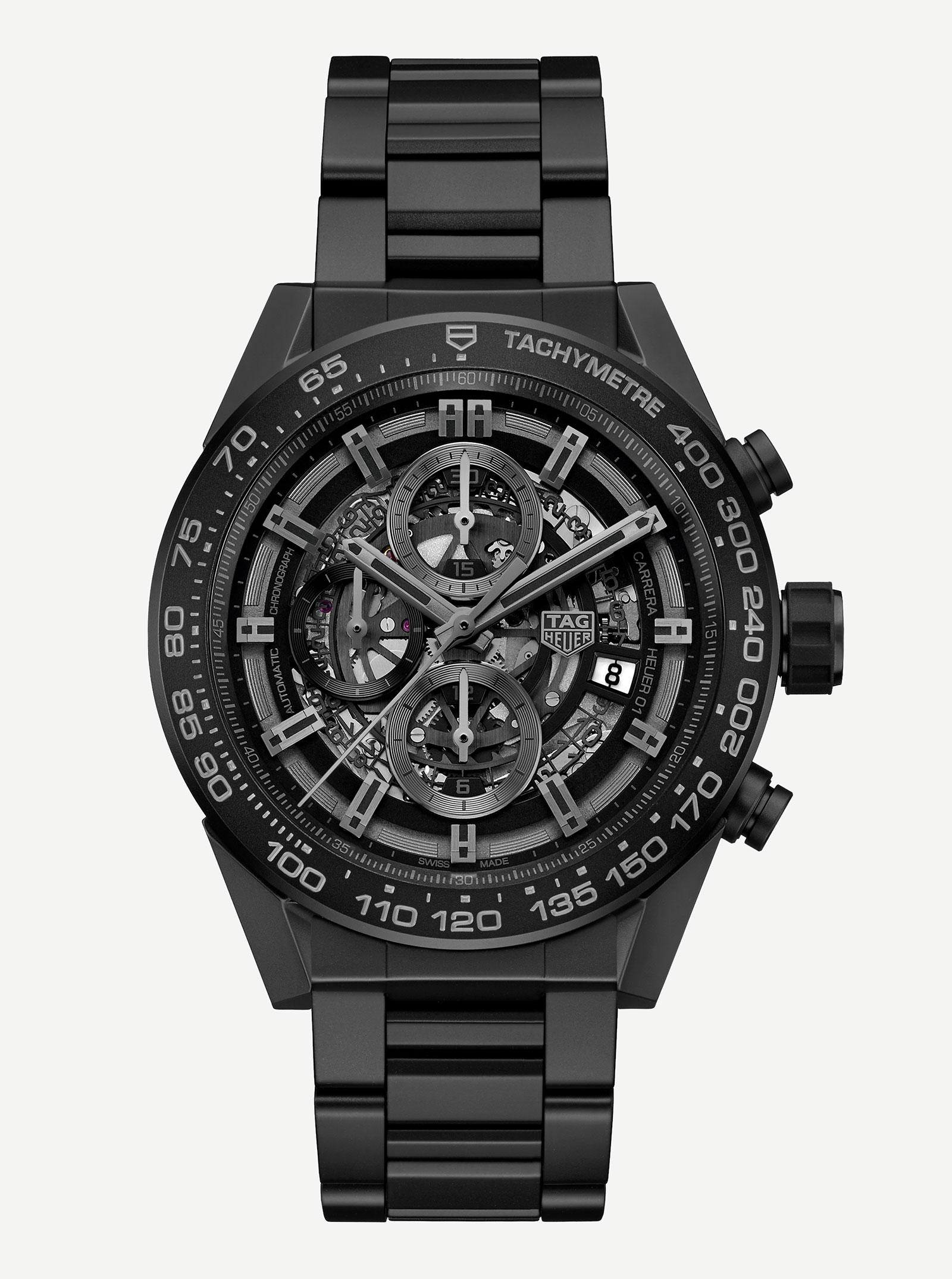 TAG Heuer Carrera Heuer-01 black ceramic 2