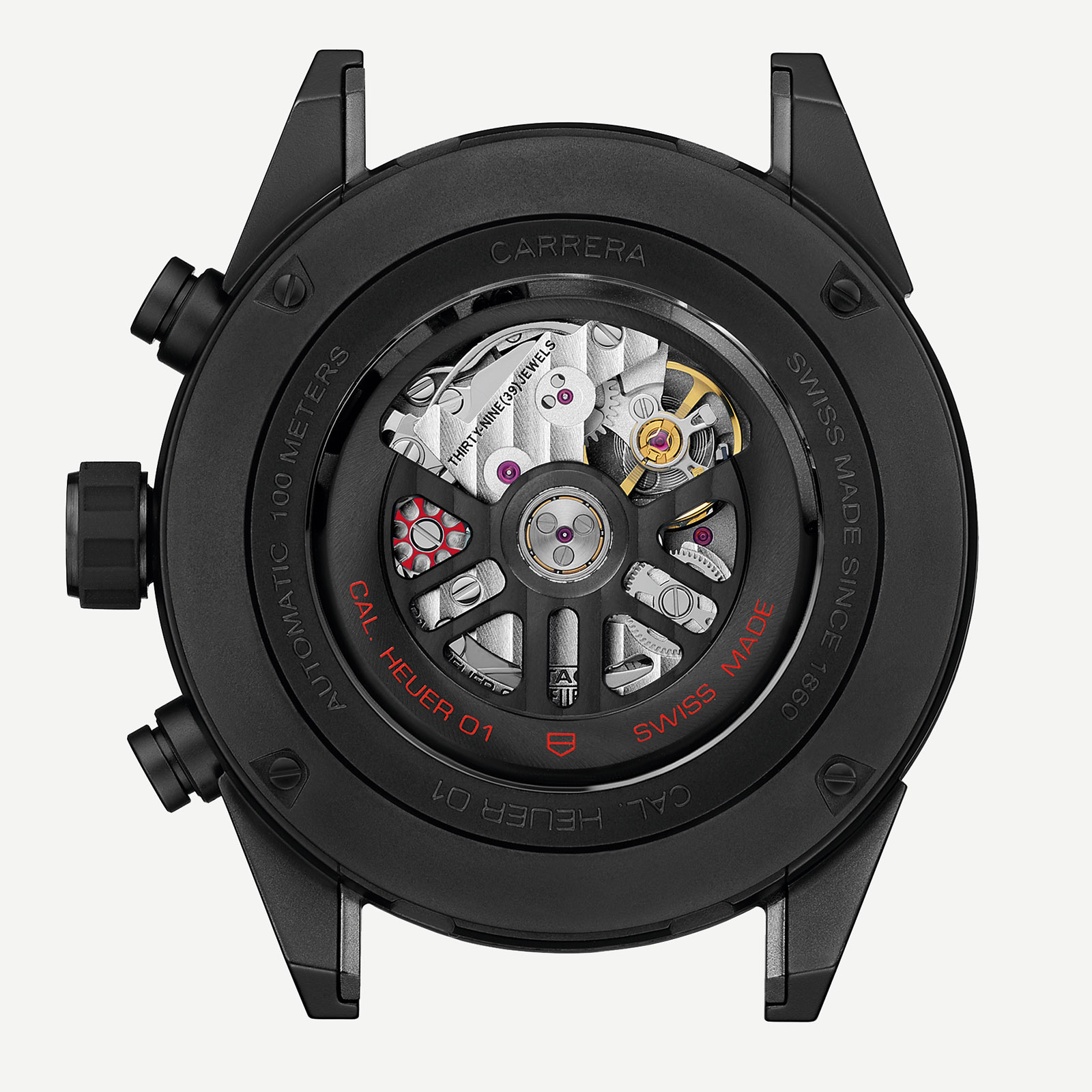 TAG Heuer Carrera Heuer-01 black ceramic 4