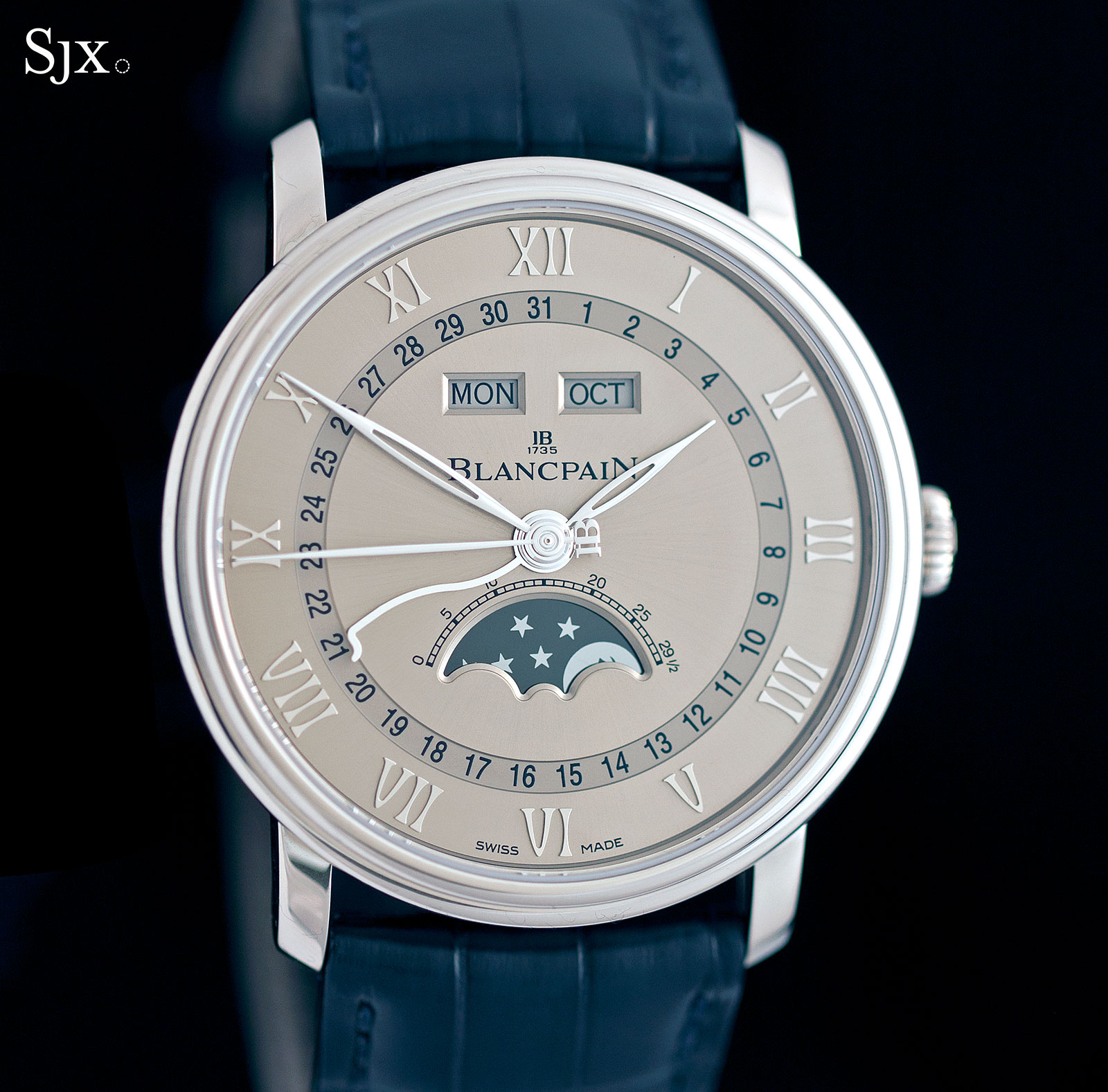 Blancpain Complete Calendar white gold 3